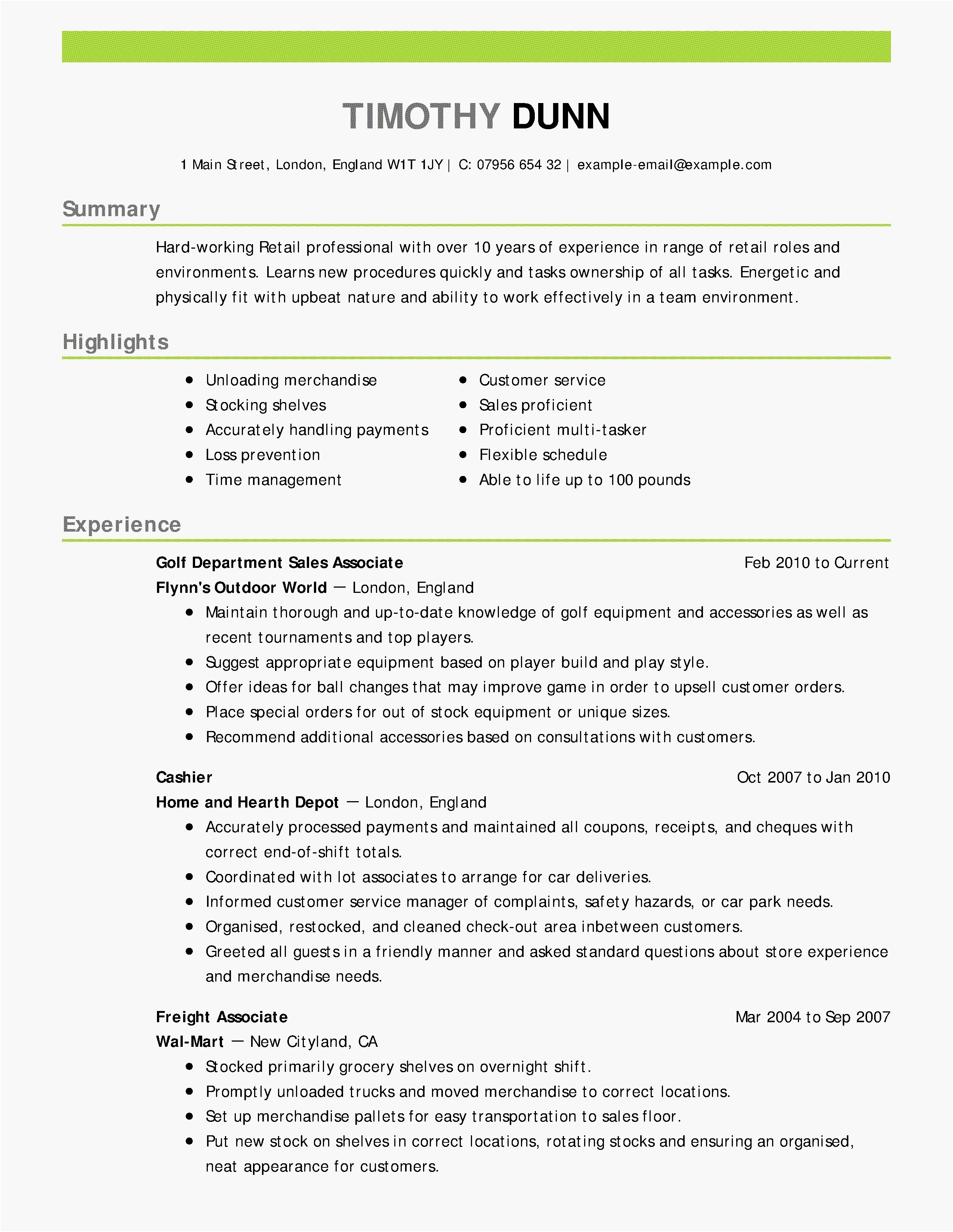 Entry Level Cover Letter Template Free Samples