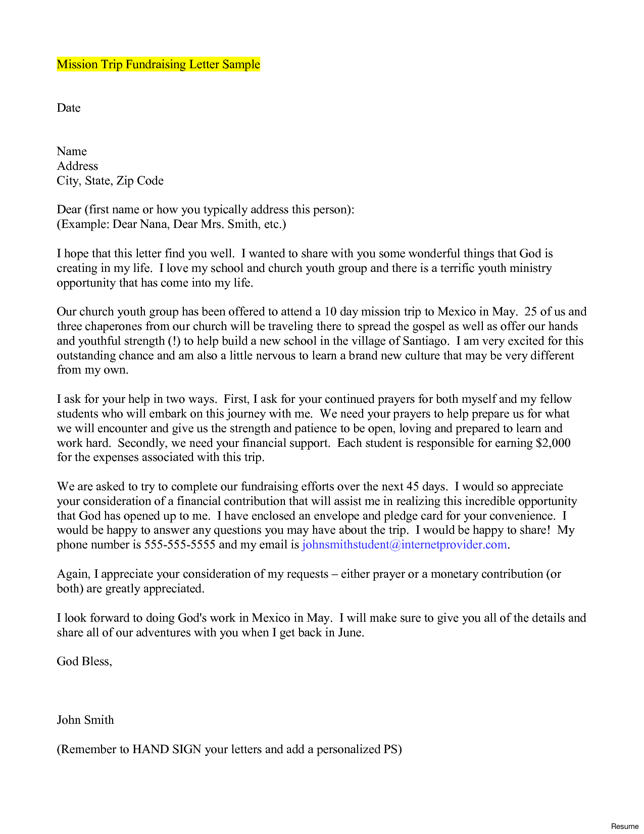 Prayer Letter Template Download - Free Cover Letter Templates Emotional Support Letter