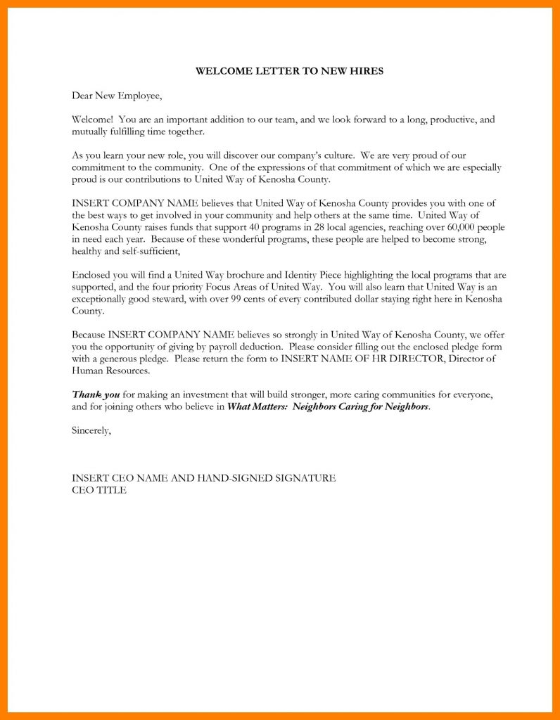 Welcome to the Neighborhood Letter Template - Free Cover Letter Templates New Customer Wel E Letter