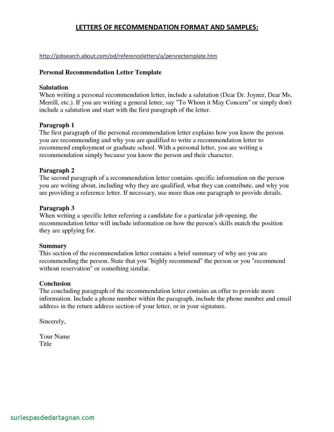 example personal reference letter free project proposal template