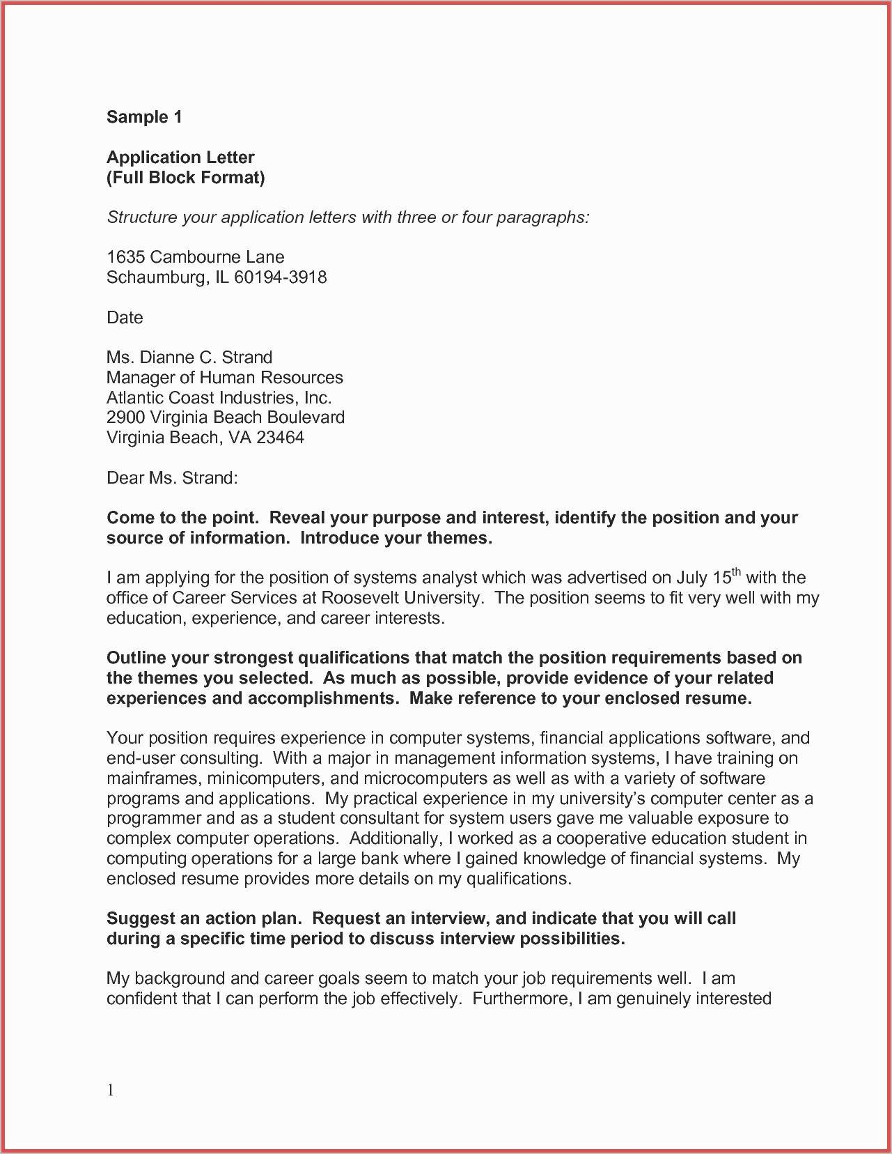 Letter Of Recommendation Template - Fresh Word Letter Template