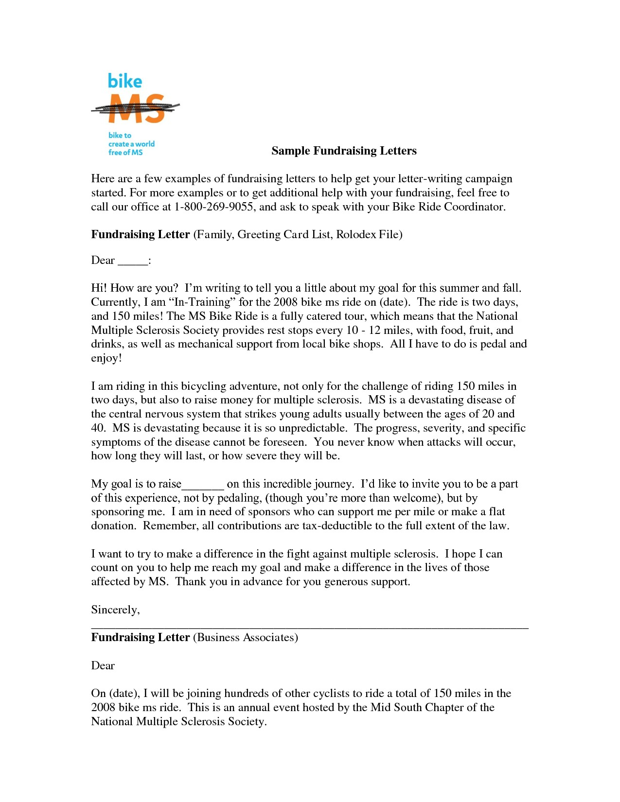 Fundraising Appeal Letter Template - Fundraising Appeal Letter format Best Sample Fundraising Letter