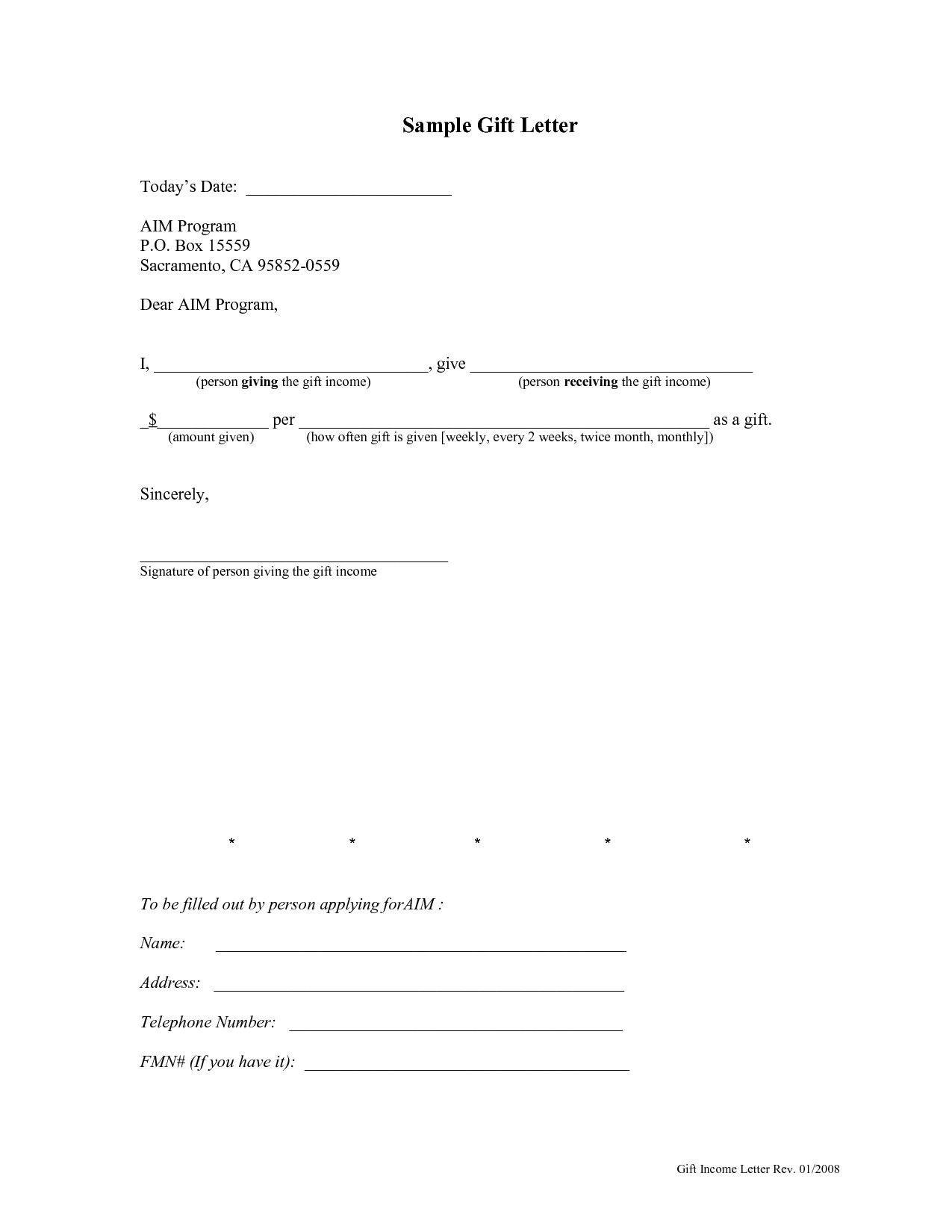 Fha Gift Letter Template - Gift Letter Template for Mortgage Down Payment Uk Sample Gift