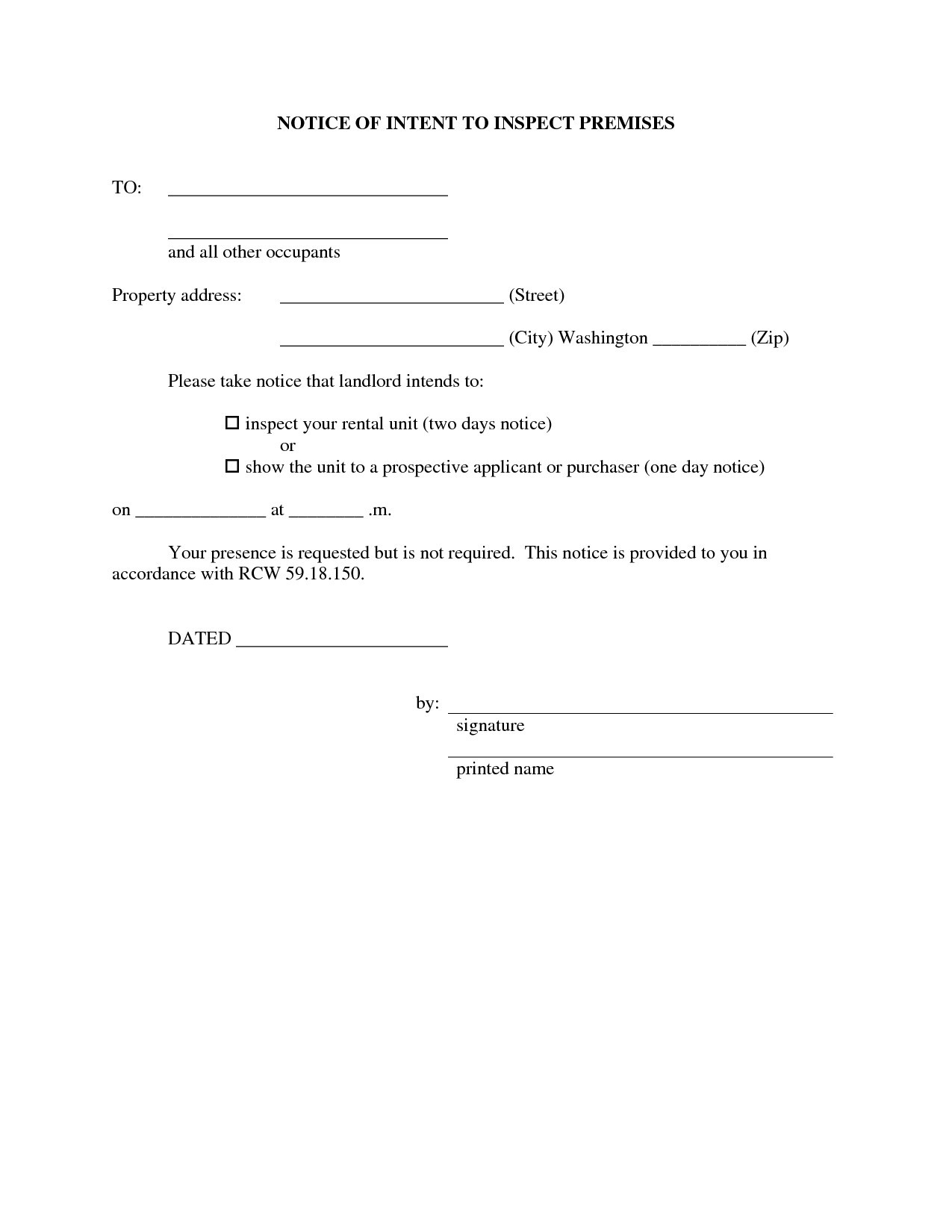 Landlord Property Inspection Letter Template - Home Inspection Contracts Agreements Best Property Inspection