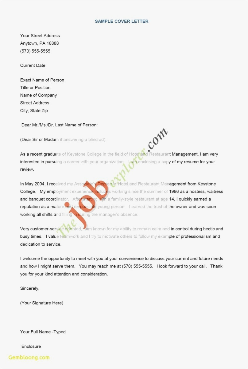 Create Letter Template - How Can I Make A Resume Picture New How to Do Resume Best Cover