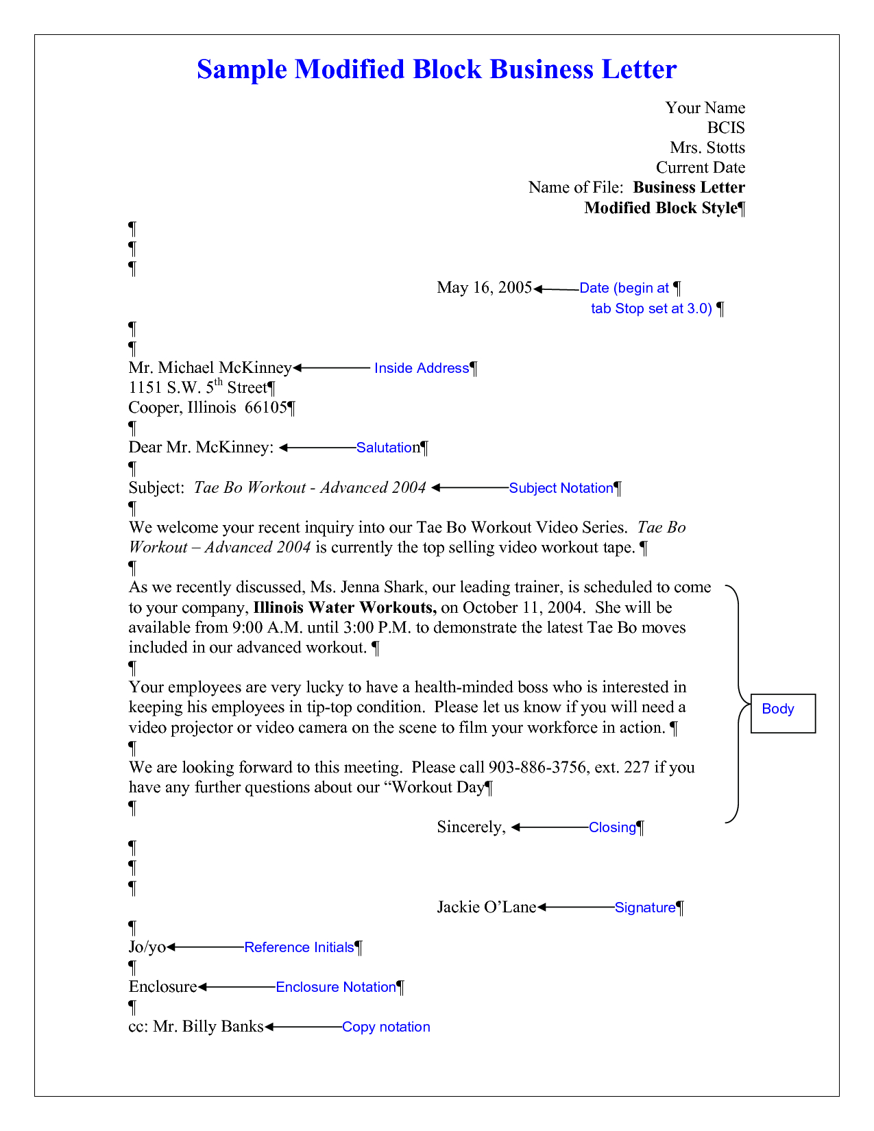 Modified Block Letter Template - How to Block Write Letters Gallery Letter format formal Sample
