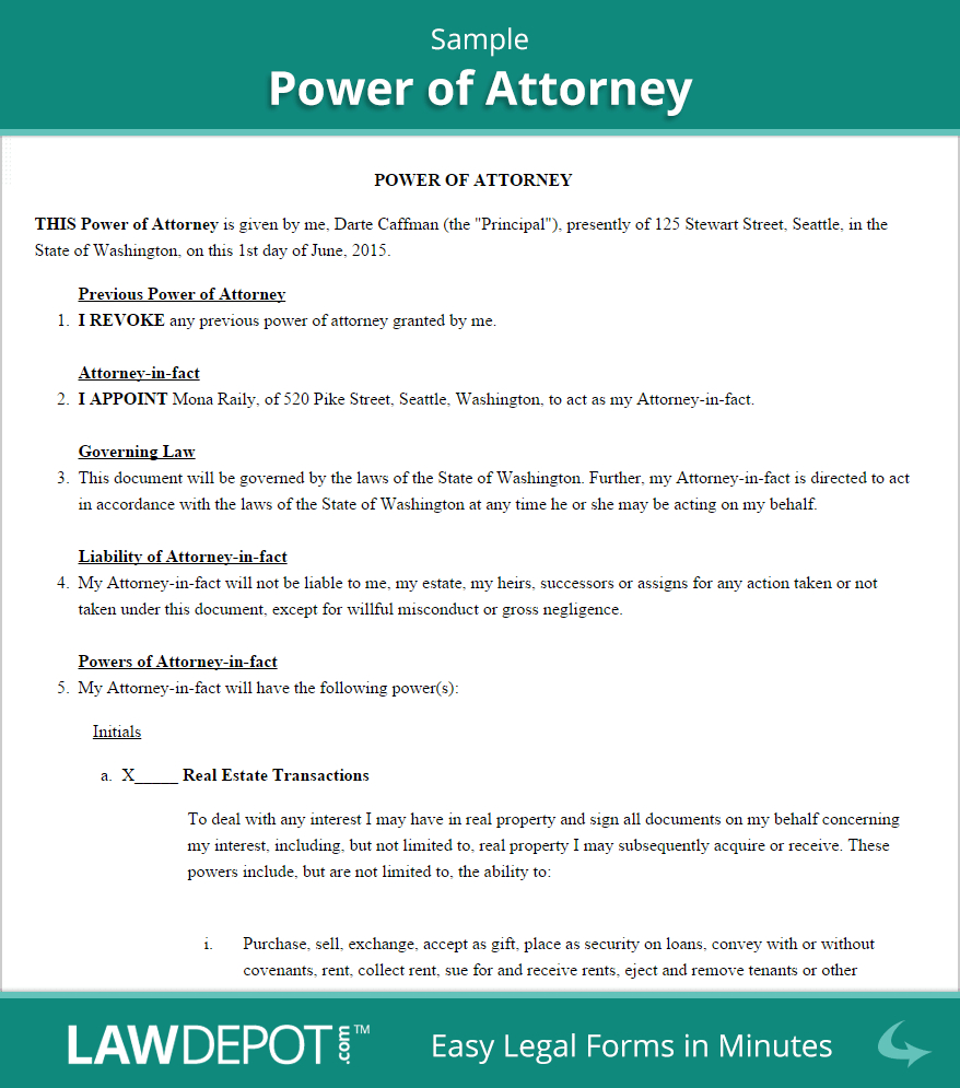 How to Write A Power Of attorney Letter Template - How to Make Power Of attorney Letter Acurnamedia
