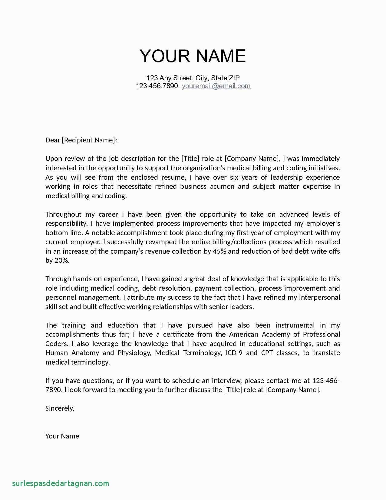 How to Create A Cover Letter Template - How to Make Resume for Job Beautiful Fresh Job Fer Letter Template