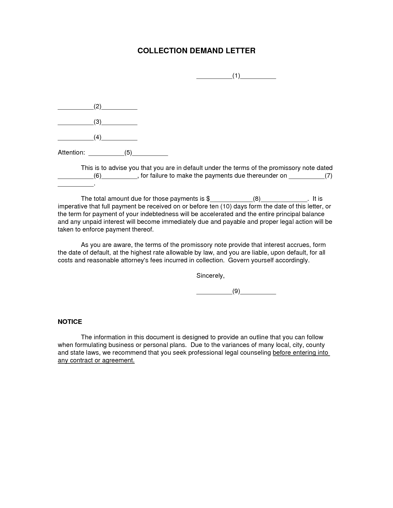 demand letter template texas example-Sample letter for business meeting confirmation of intent collection sample letter for business meeting confirmation of 11-d