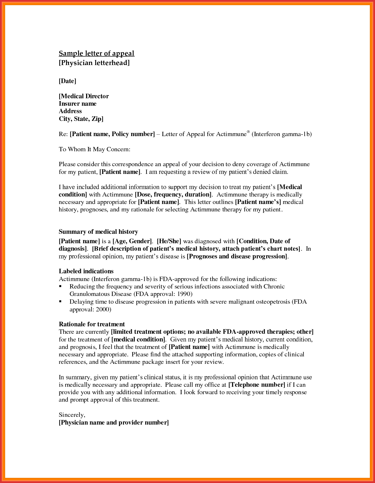 Appeal Letter Template - How to Write A Good Appeal Letter Acurnamedia