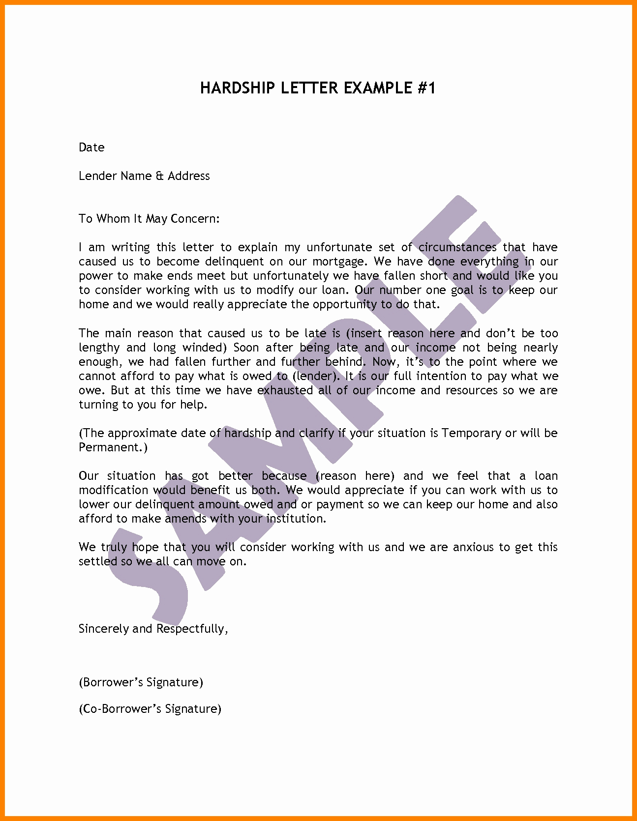 Immigration Hardship Letter Template - How to Write A Hardship Letter for Immigration for A Friend Lovely