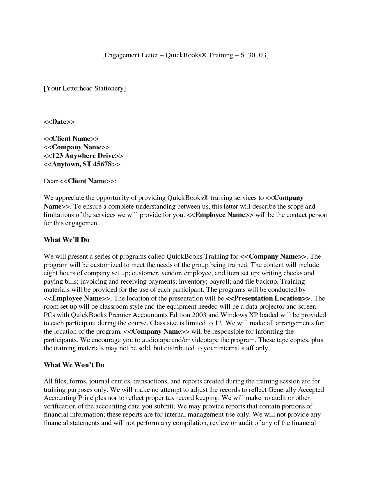 Tax Preparation Engagement Letter Template - How to Write A Letter Engagement Gallery Letter format formal