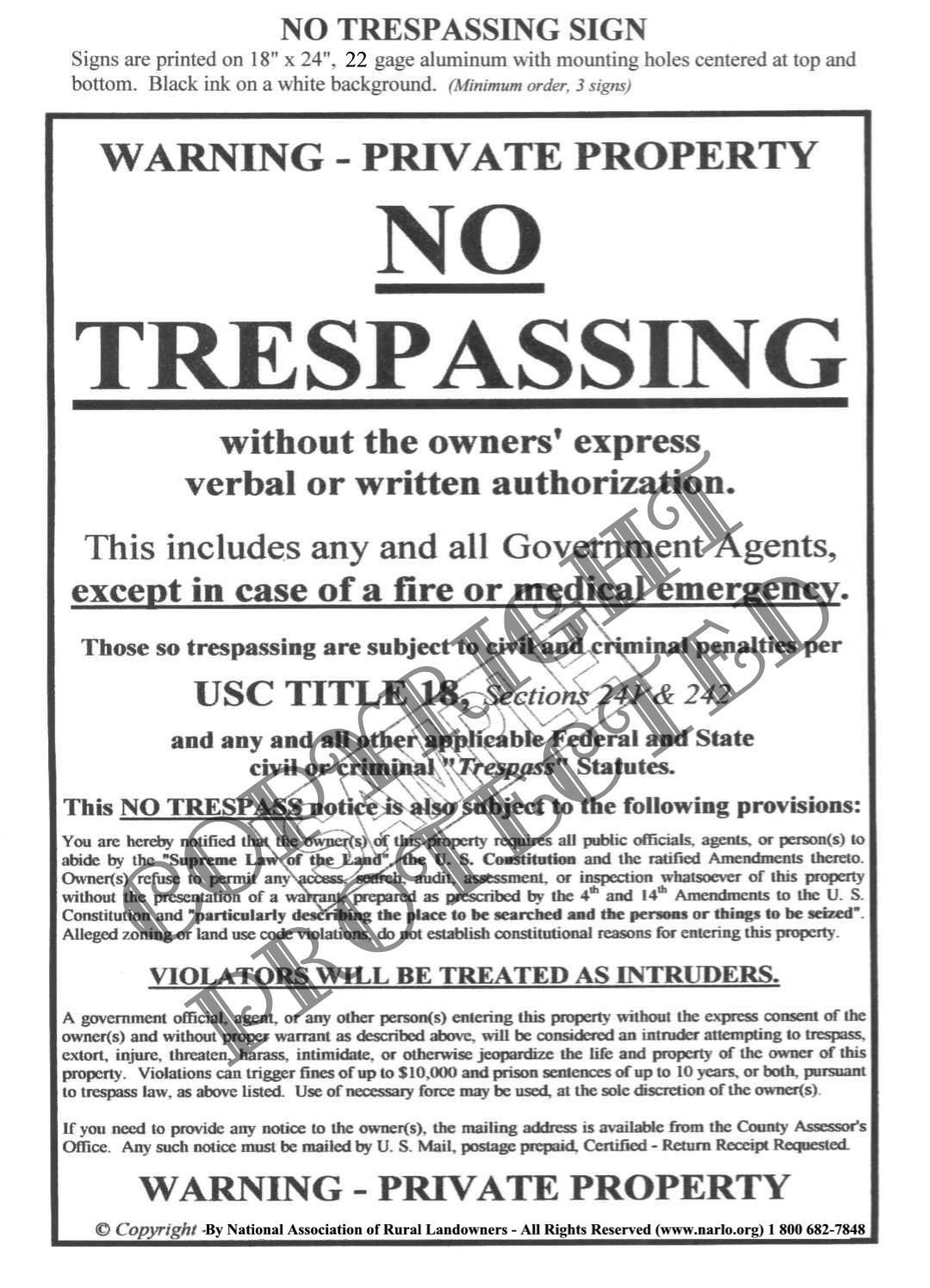 Cease and Desist Trespassing Letter Template - How to Write A No Trespassing Letter Choice Image Letter format