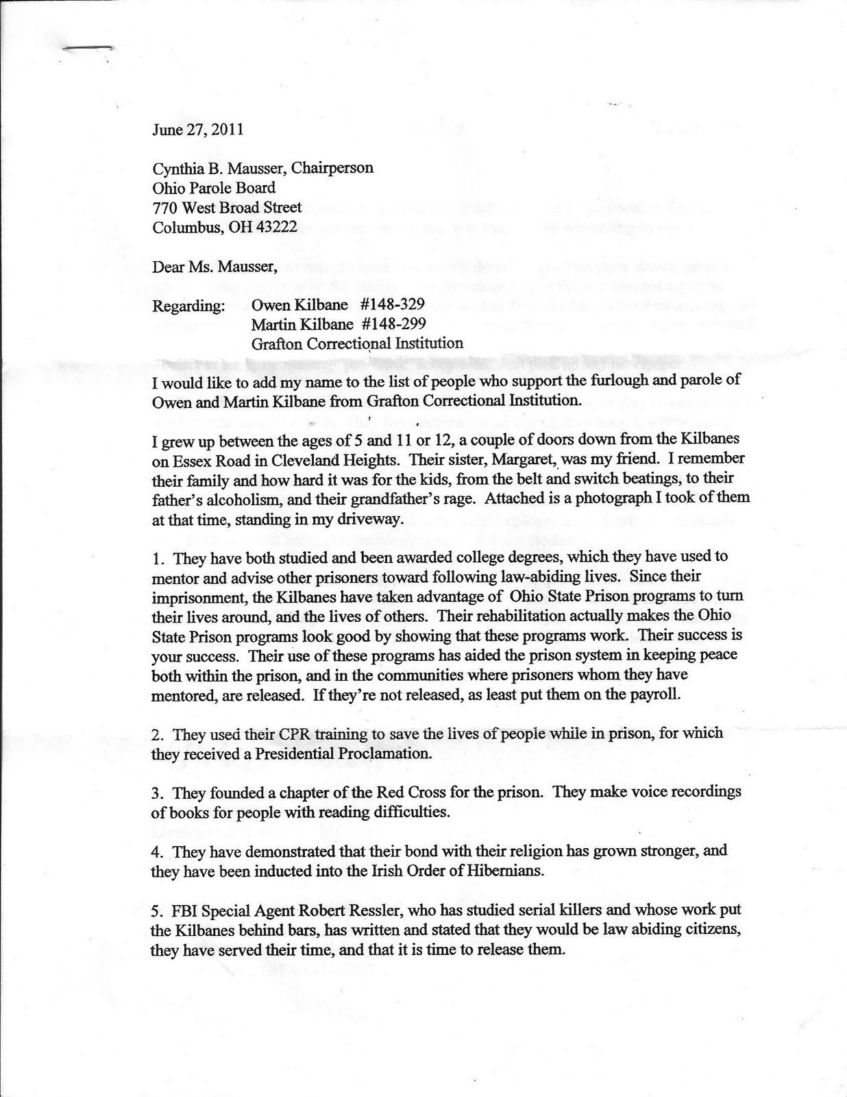 Parole Letter Template - How to Write A Parole Letter In Texas Letter format formal