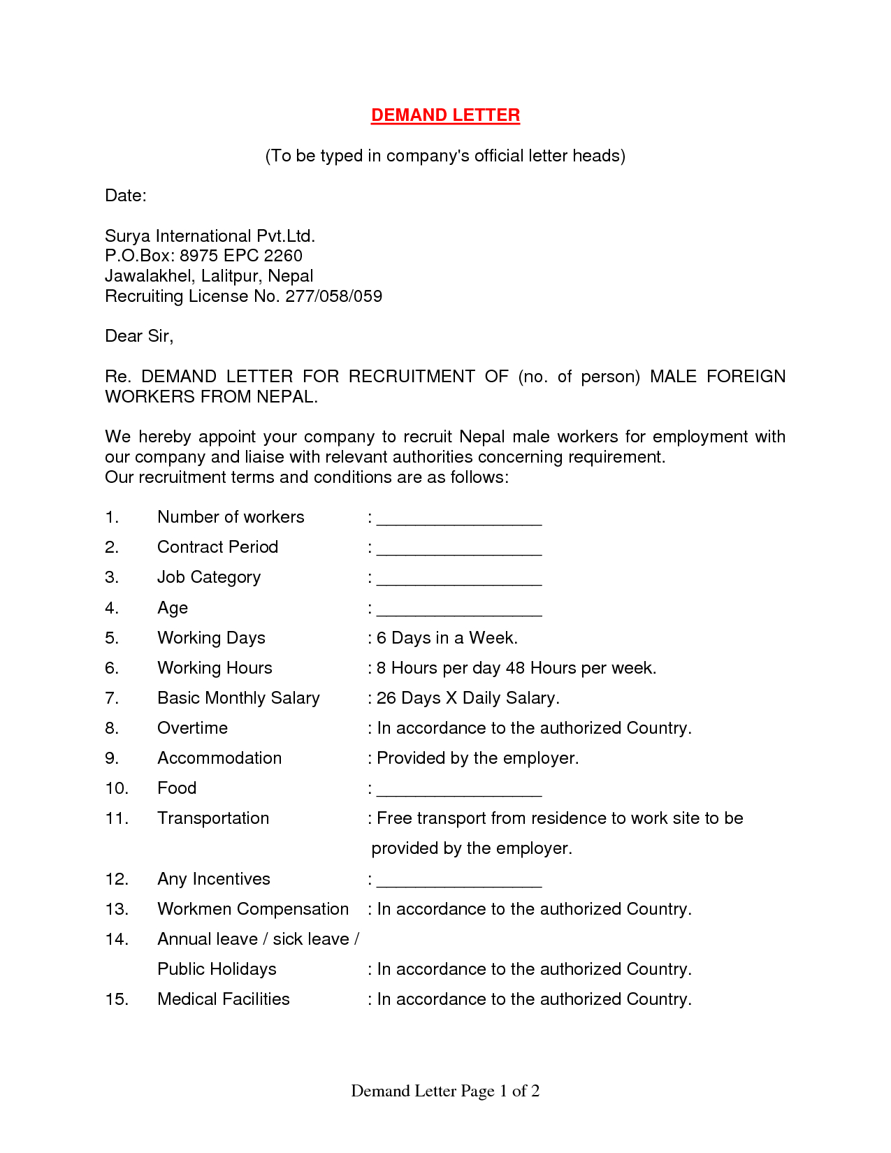 demand letter car accident template how to write letter demand letter format formal sample