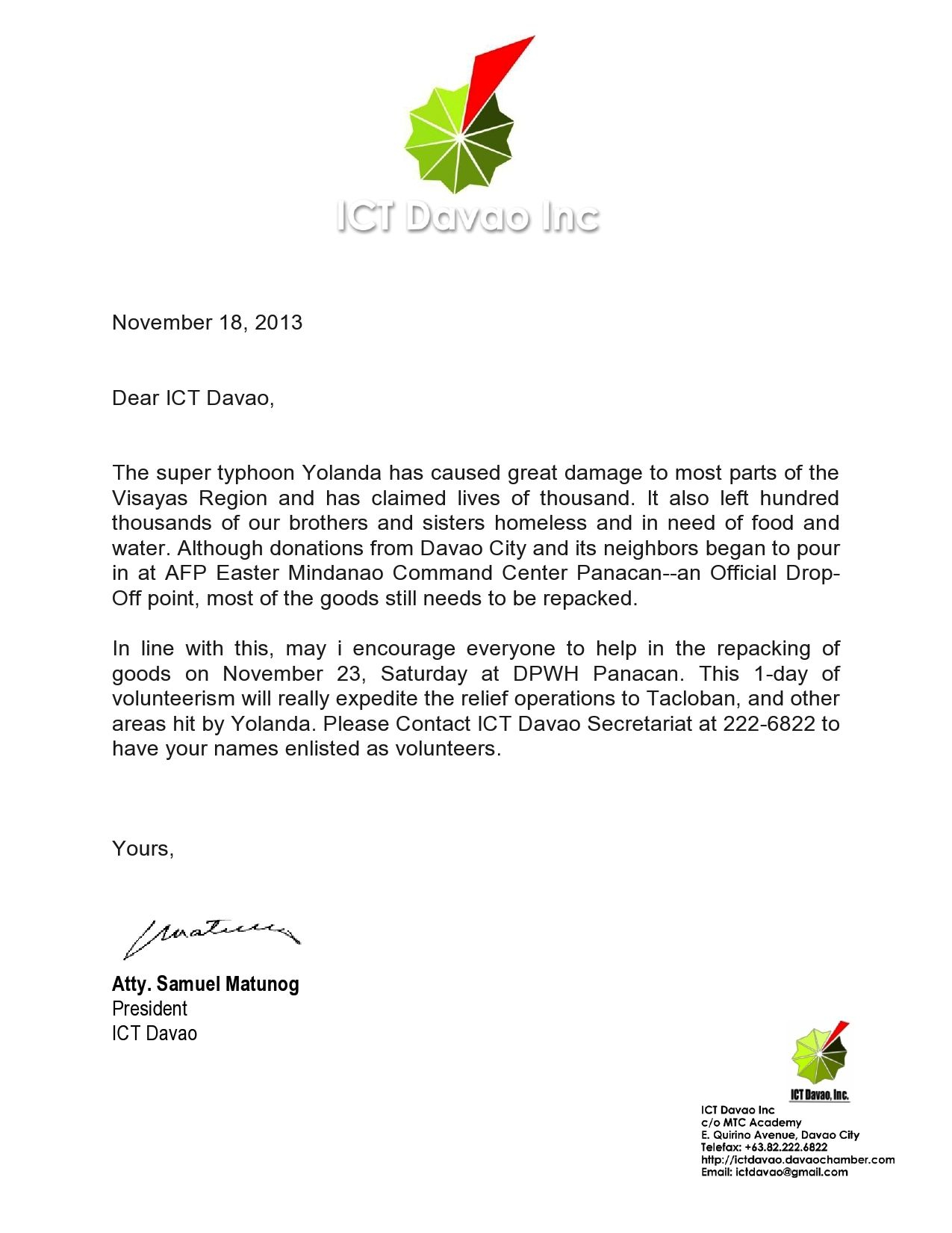 Welcome to the Neighborhood Letter Template - Ictdavao Volunteer Workvolunteer Letter Template Application Letter