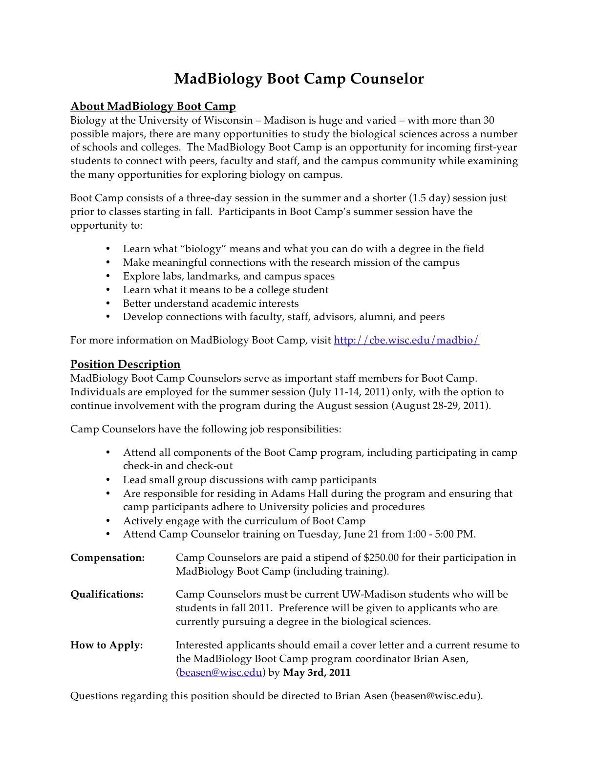 Summer Camp Letter to Parents Template - Ideas Sample Camp Counselor Resume for Your Free Gallery Resumes