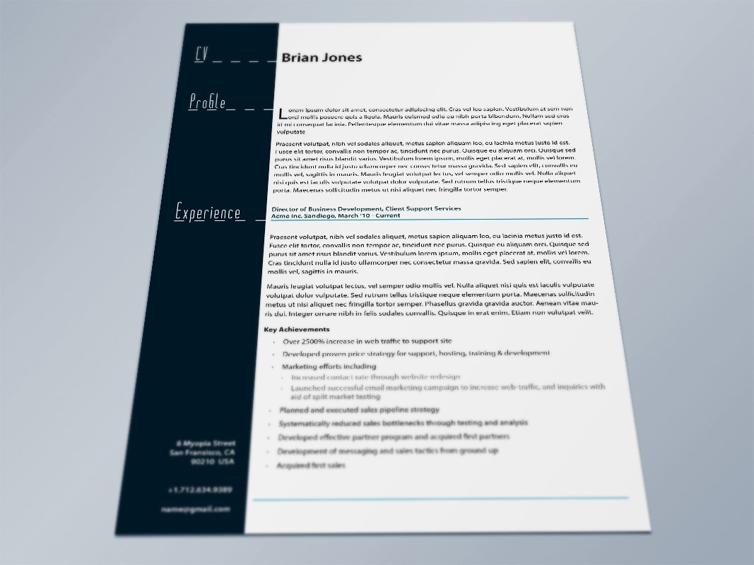 Indesign Letter Template - Indesign Resume Template Resume Cover Letter Template Throughout