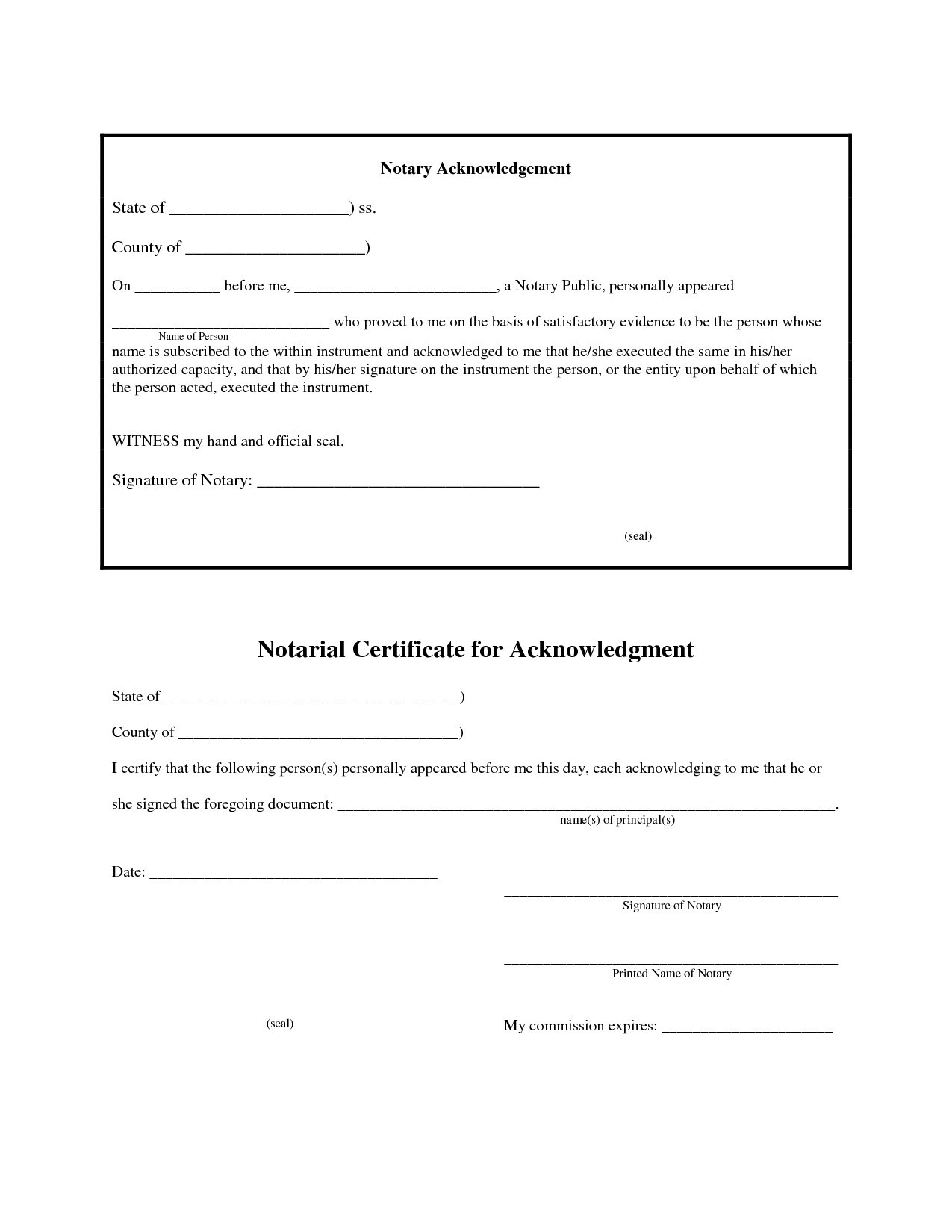 Notarized Letter Template Florida - Inspiration Example Notarized Letter New Inspiration Best S