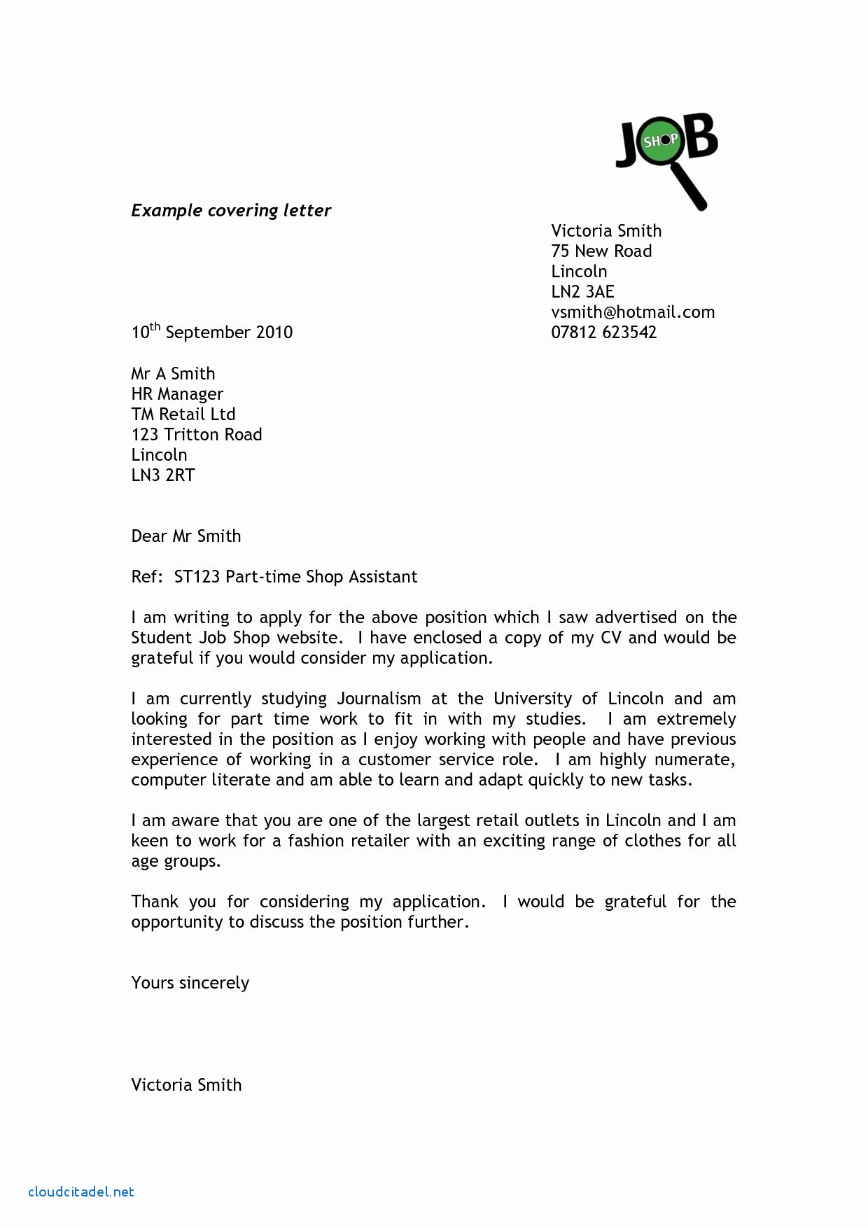 Employment Verification Letter Sample and Template - Inspirational Application Letter for Employment Manager Job Sample
