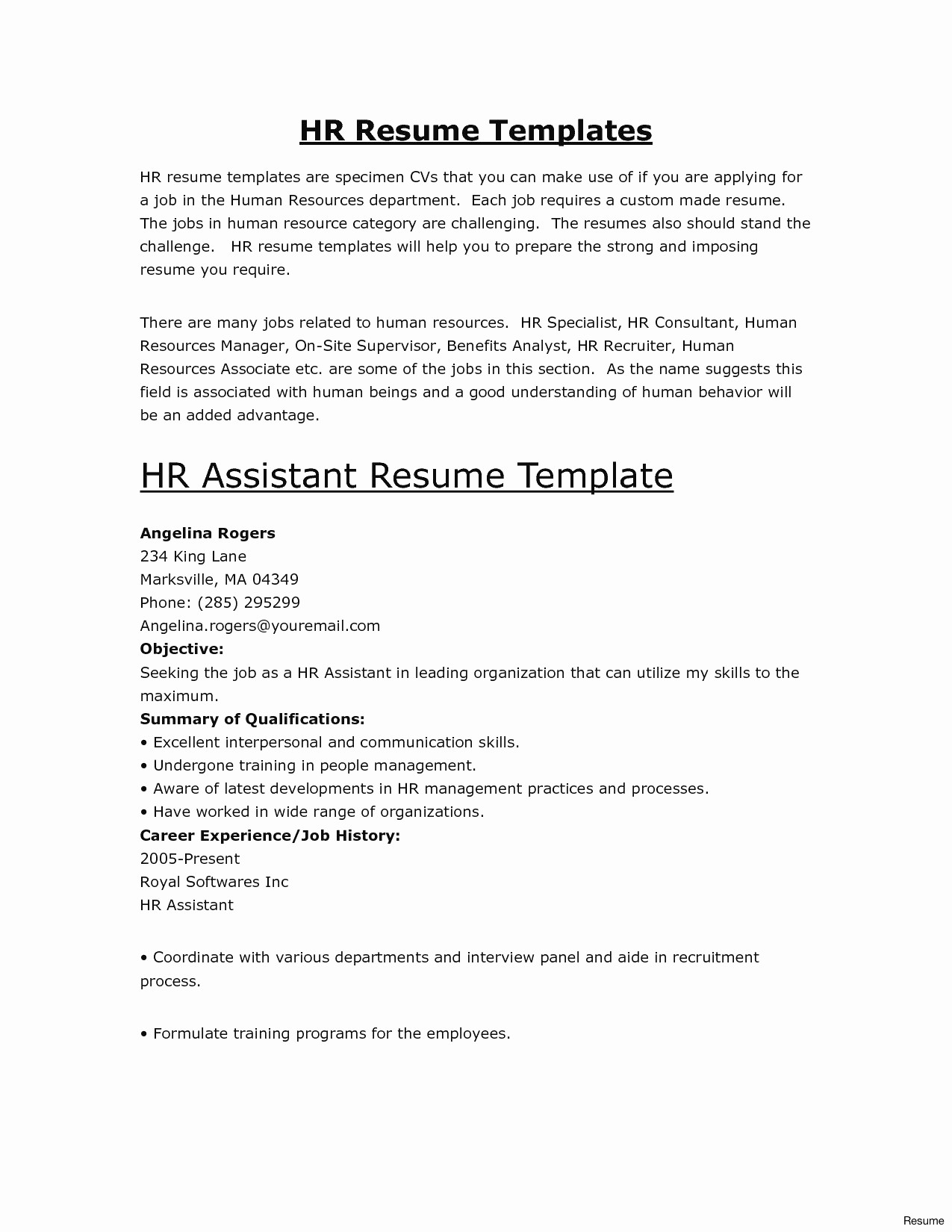 free employment verification letter template Collection-free word resume template awesome free resume template builder inspirational od specialist sample of free word 16-i