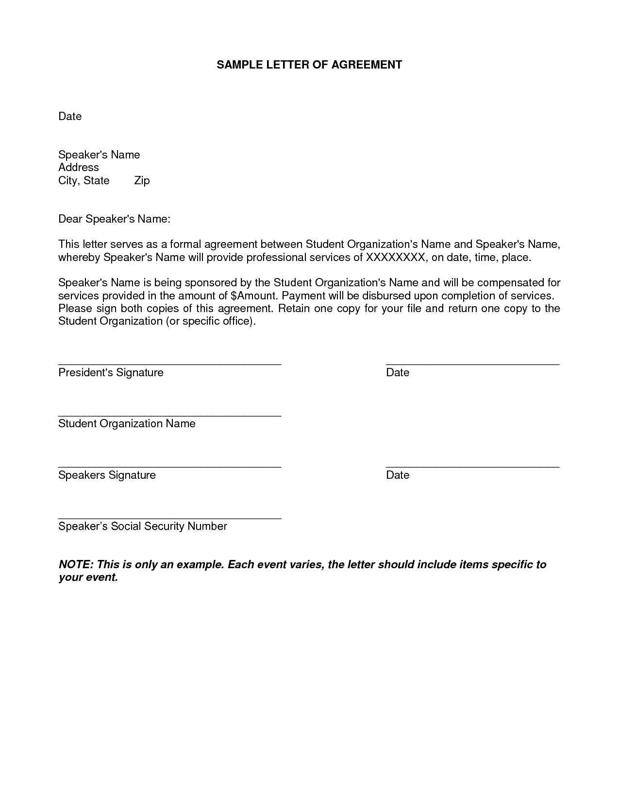 Installment Payment Agreement Letter Template - Installment Payment Agreement Template Awesome Payment Agreement