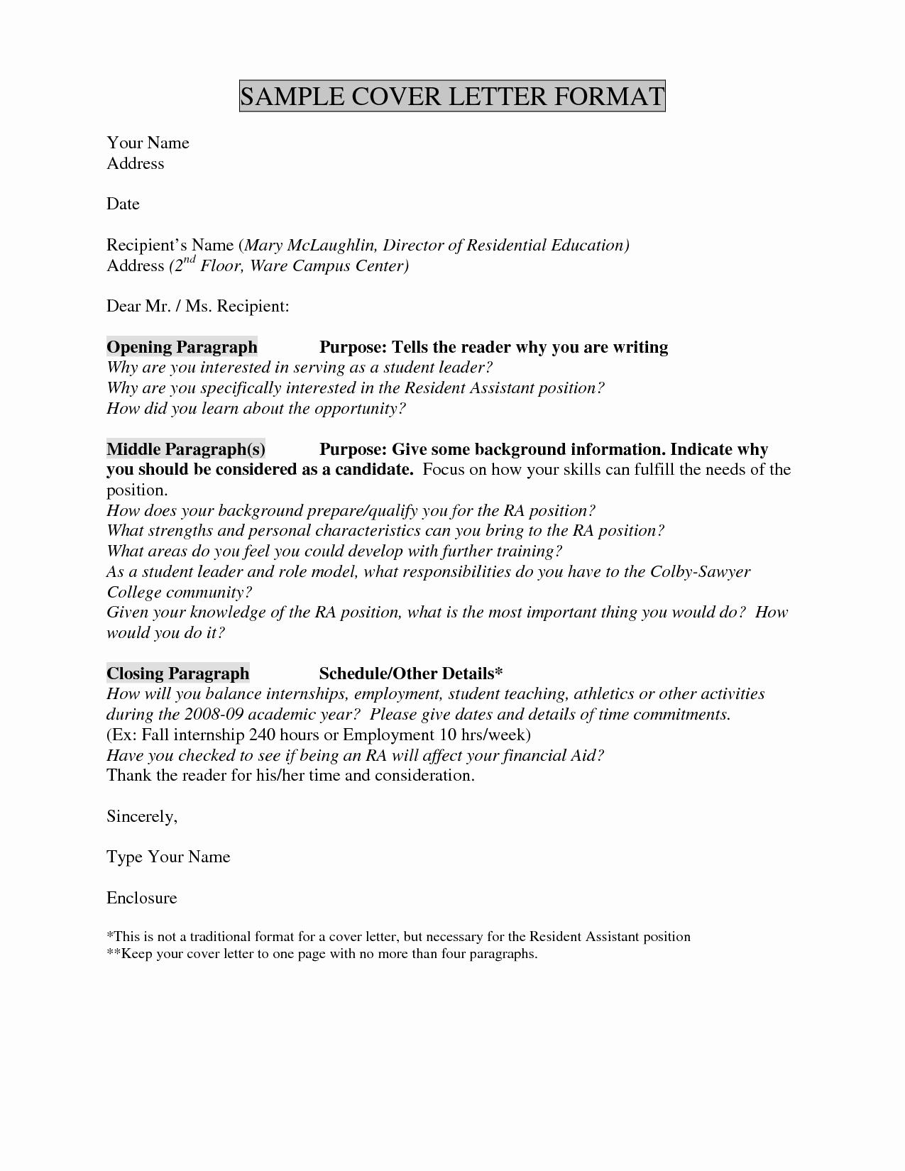 Electronic Cover Letter Template - Internship Cover Letter Template Best Unique if I Apply to More