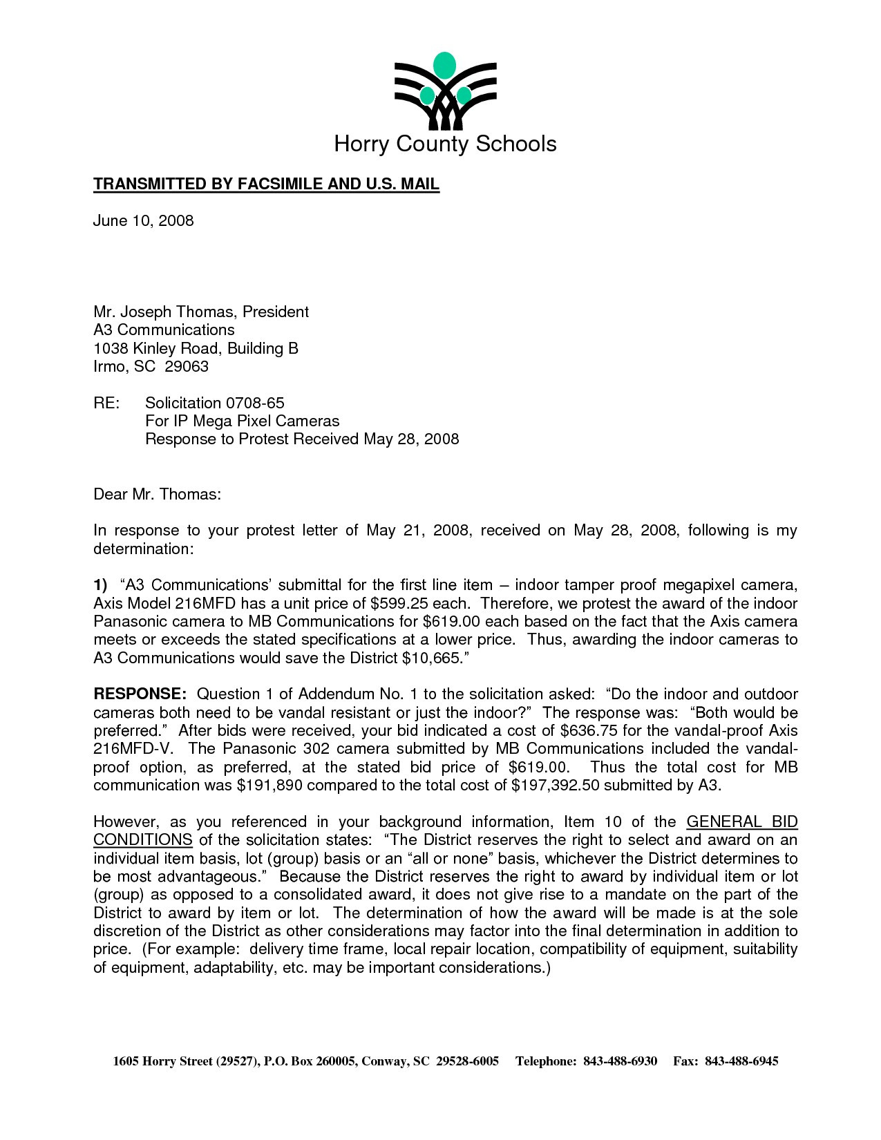 Tax Protest Letter Template - Irs 501c3 Determination Letter Sample Unique Great Irs Response