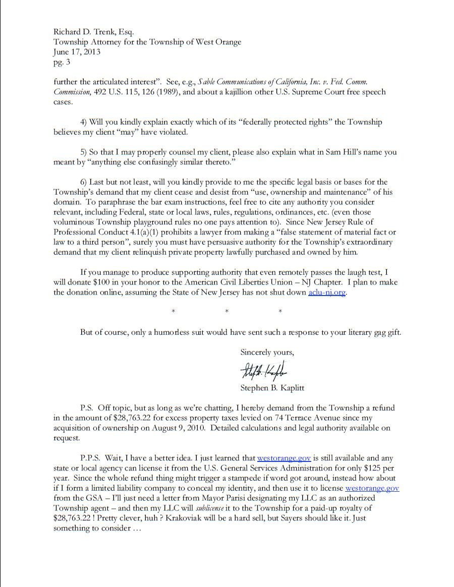 cease and desist letter california template example-Is This The Best Response To A Cease And Desist Letter Ever 13-a