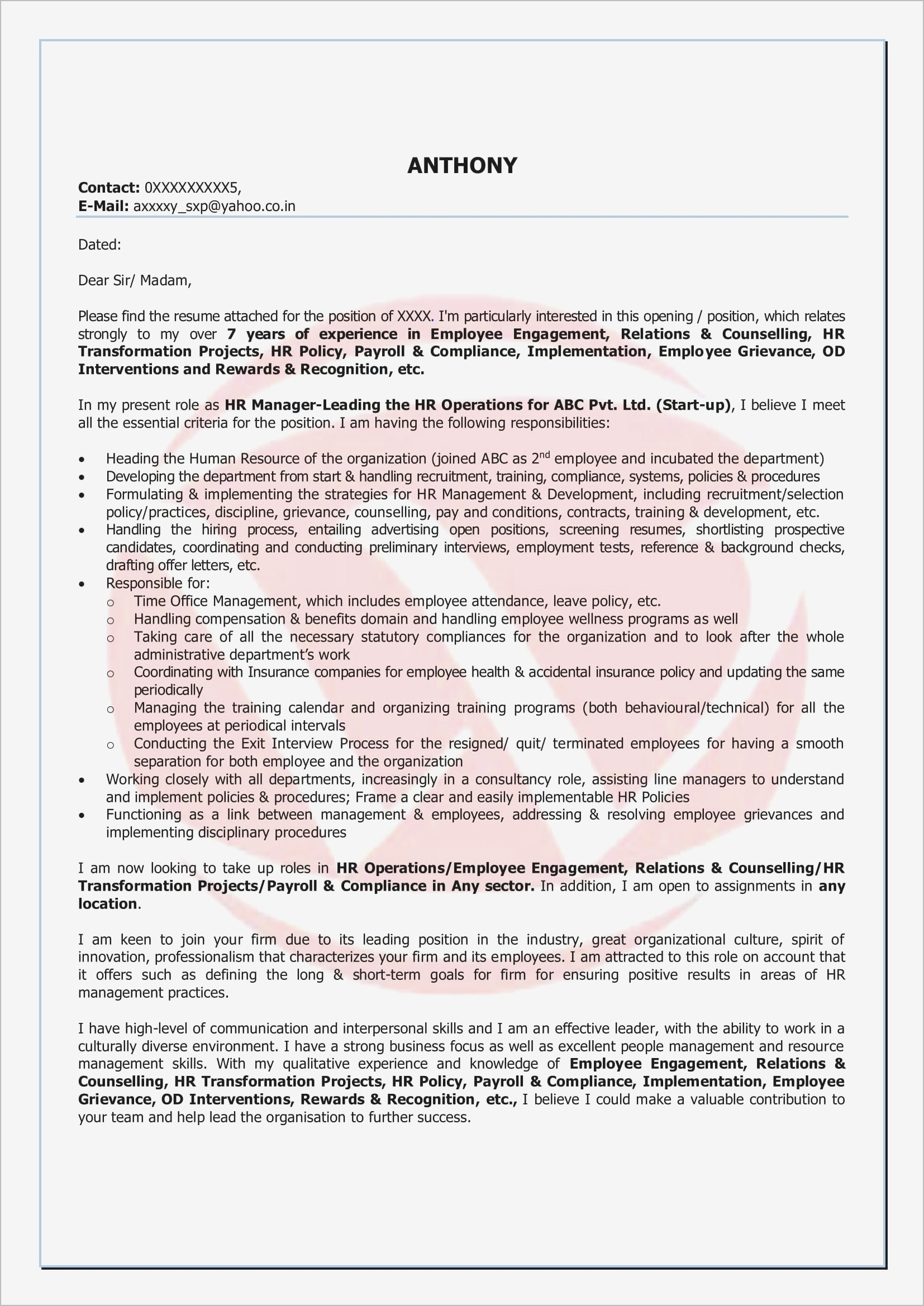 Letter Of Employment Template Word - Job Re Mendation Letter Inspirationa Letter Re Mendation Template
