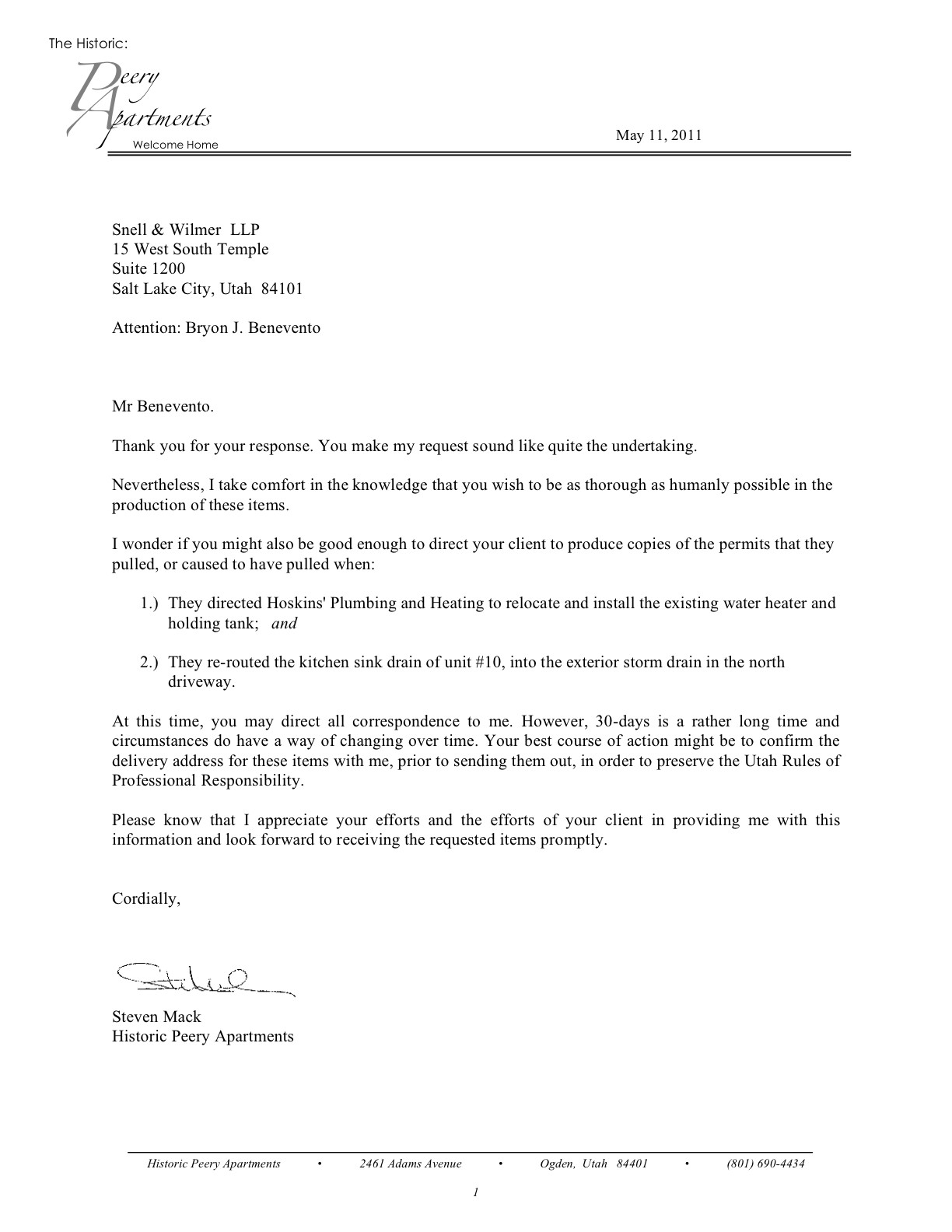 Sample Legal Letter Format | Cease And Desist Letter Breach Of Contract Template Samples Letter