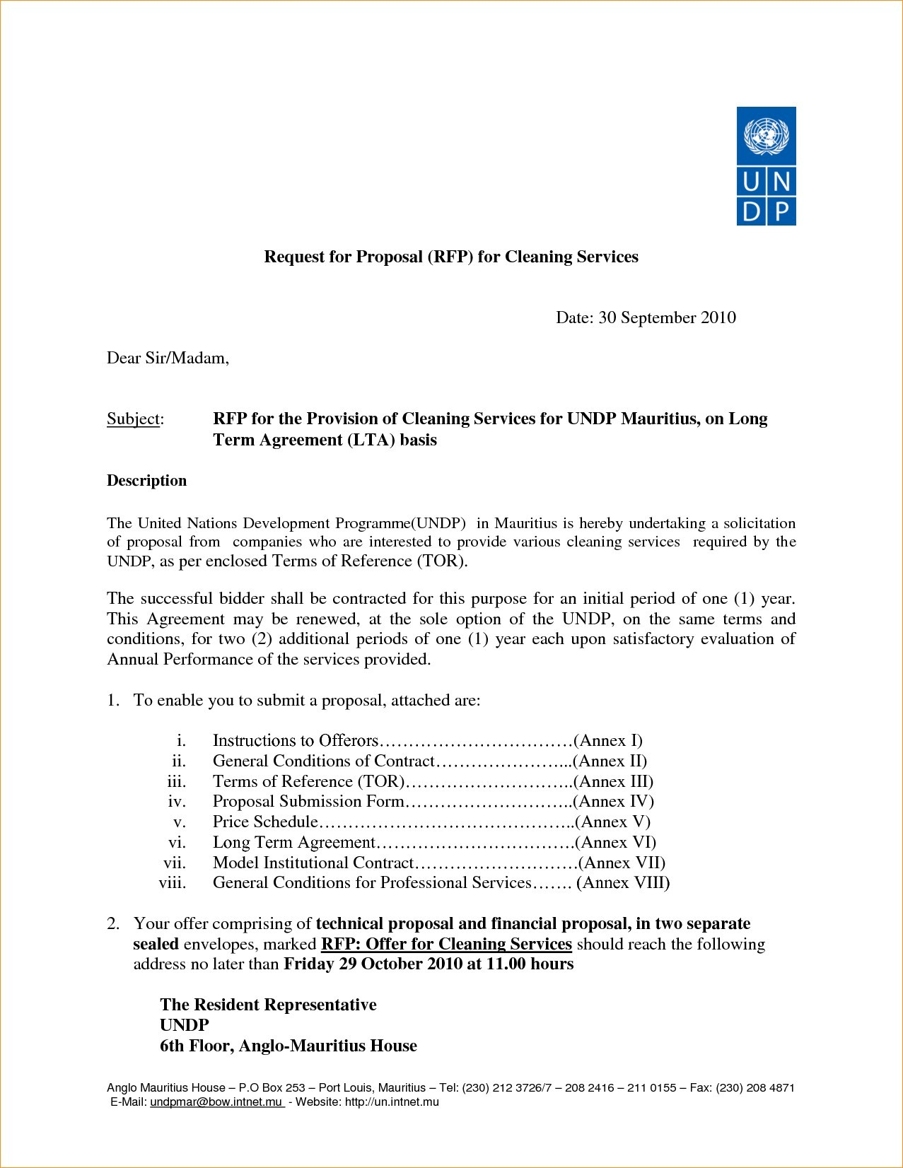 Property Management Proposal Letter Template Samples Letter Templates