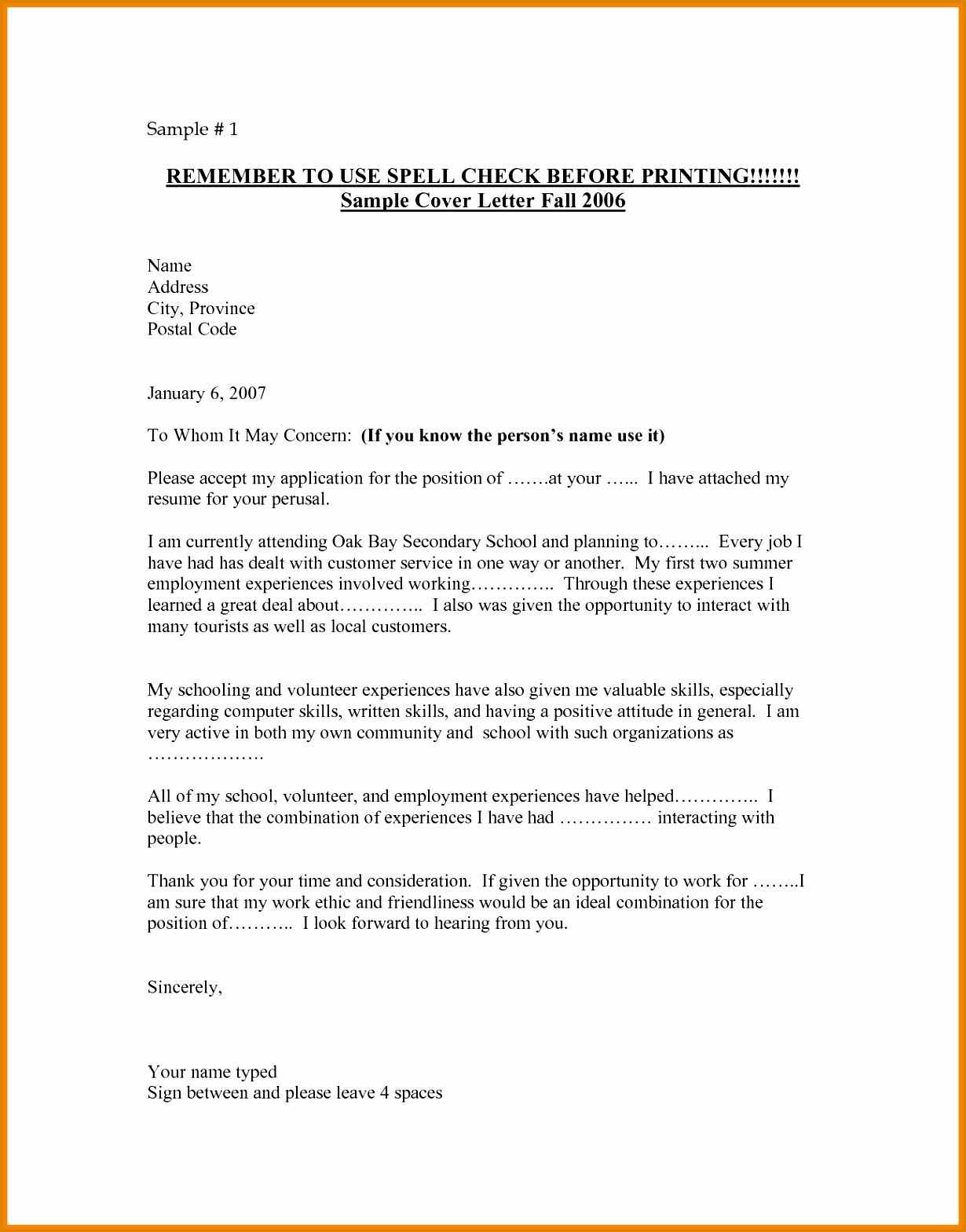 Employment Verification Letter to whom It May Concern Template - Letter format to whom It May Concern Re New How to Write to whom It