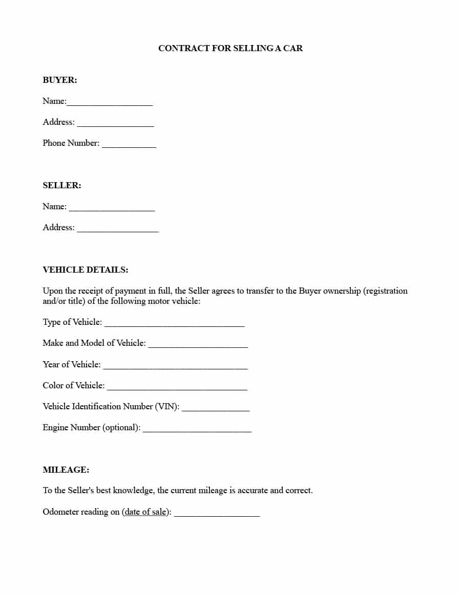 Vehicle Repossession Letter Template - Letter Intent toell Vehicle Repossessed How Write to Sell S