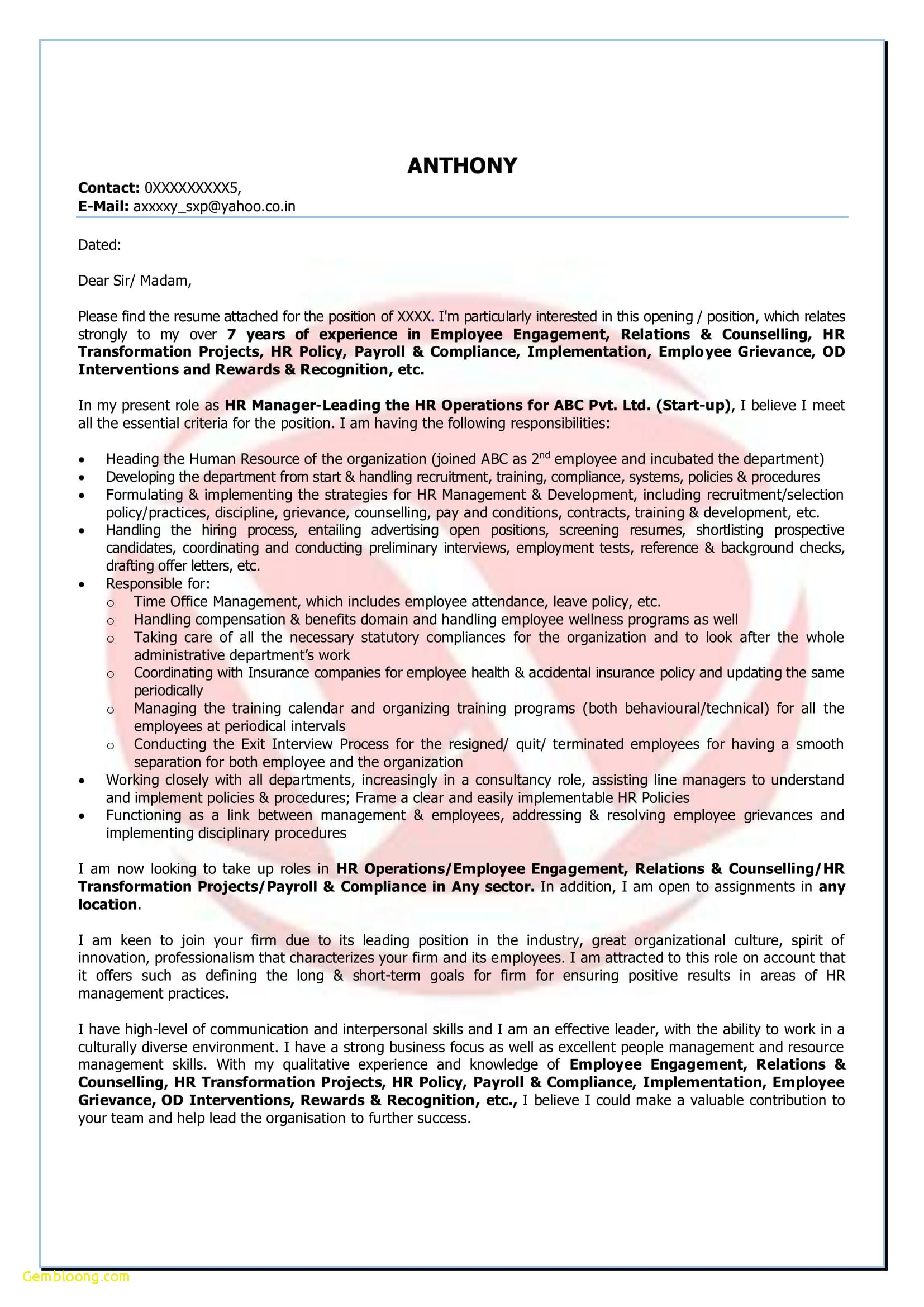 Letter Of Recommendation Template for Employee - Letter Re Mendation Employee Template Save References for