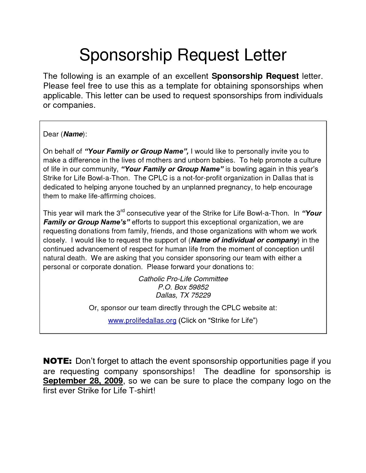 Demand Letter Template Texas - Letter Template Archives Save Sponsor Letters Fresh Request Sponsor