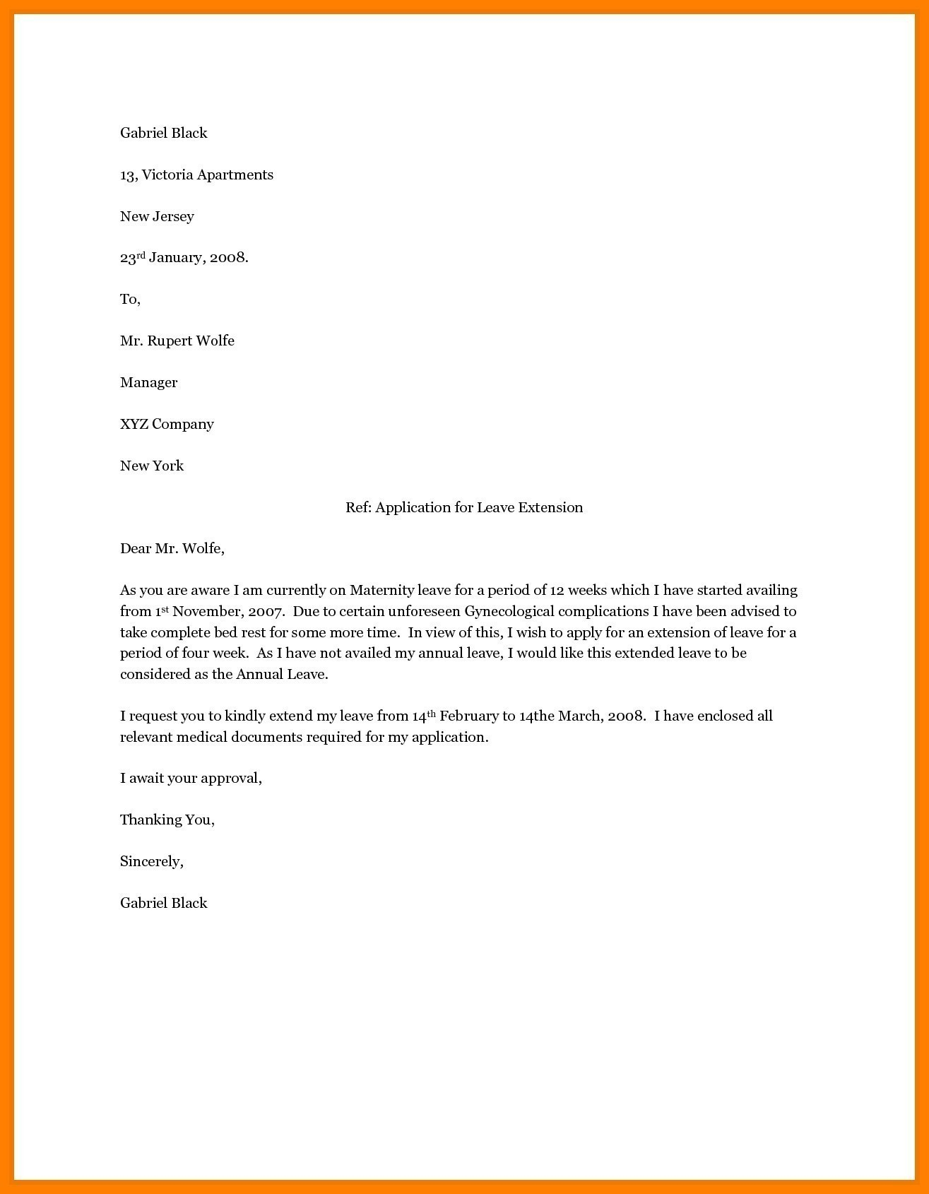 Pregnancy Letter From Doctor Template - Letter Template Maternity Leave Best Professional Letter format with