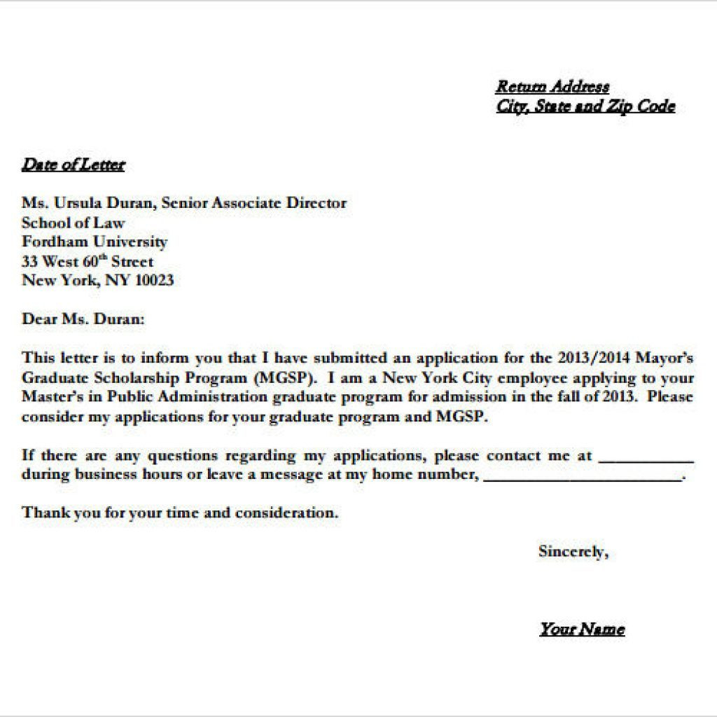 Generic Letter Of Intent Template - Letter Understanding Sample Beautiful Example Letter Intent to
