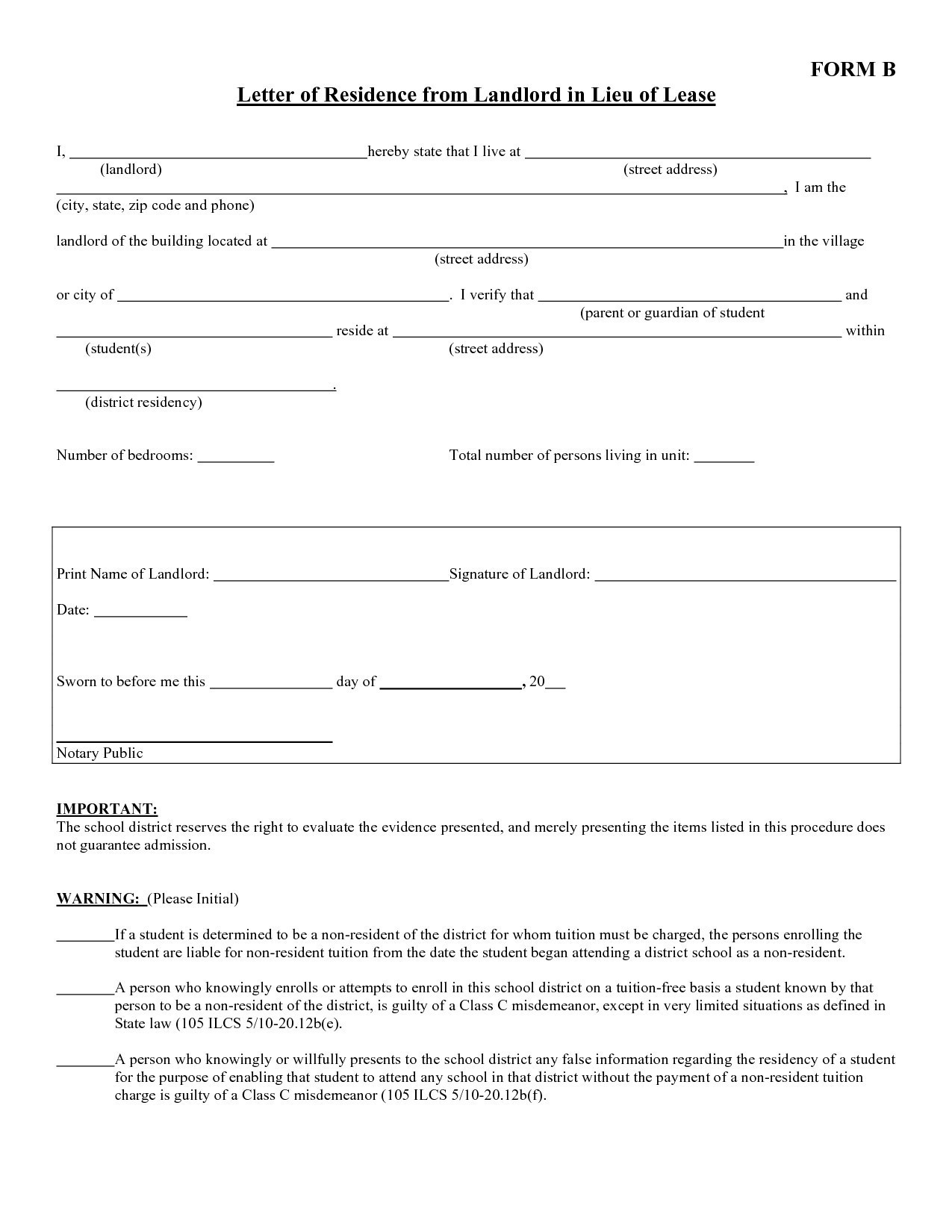 Proof Of Rent Letter Template - Lindatellingtonjones Resume formats and Template Frees