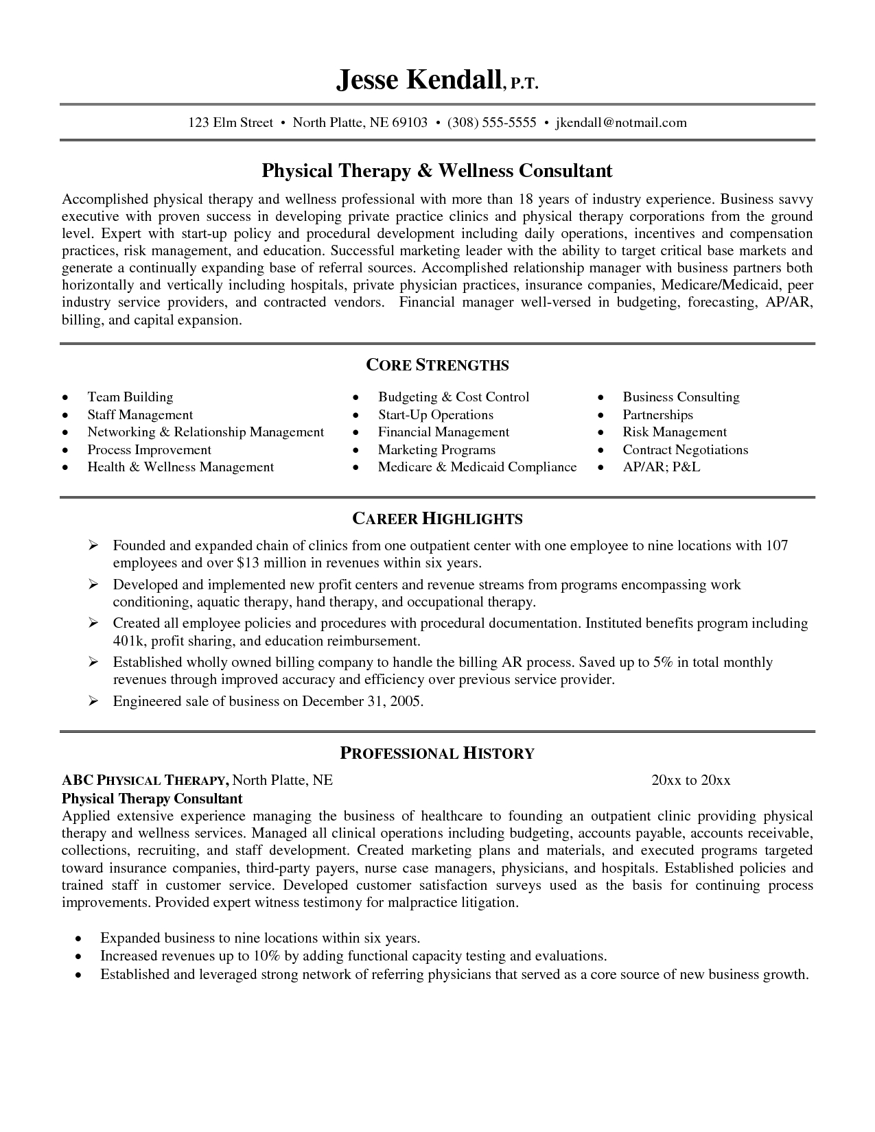 Physical therapy Cover Letter Template - Massage therapy Resumes Samples Roddyschrock