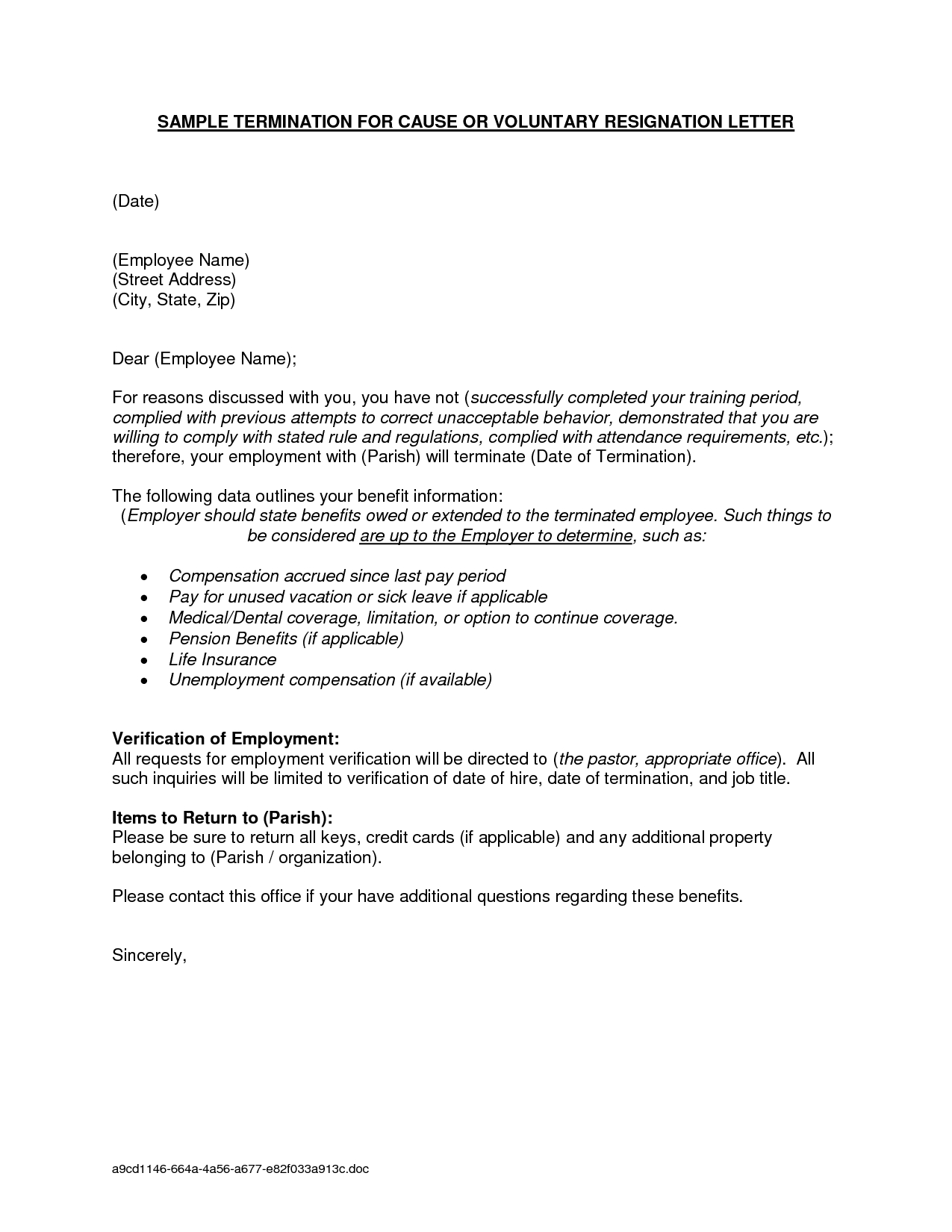 Probation Termination Letter Template - Medical Resignation Letter Sample Due Illness Example Icover