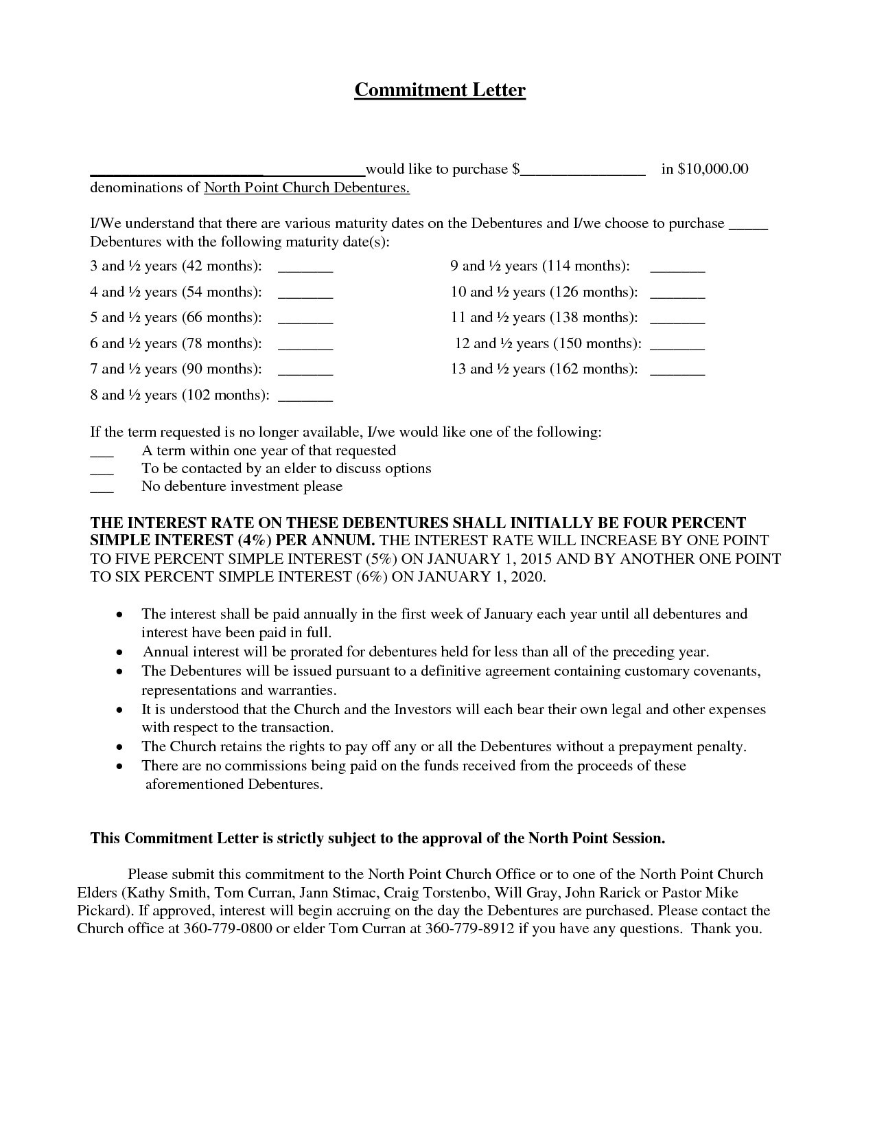 Mortgage Commitment Letter Template - Mitment Letter Sample Copy Employee Mitment Letter Sample Valid