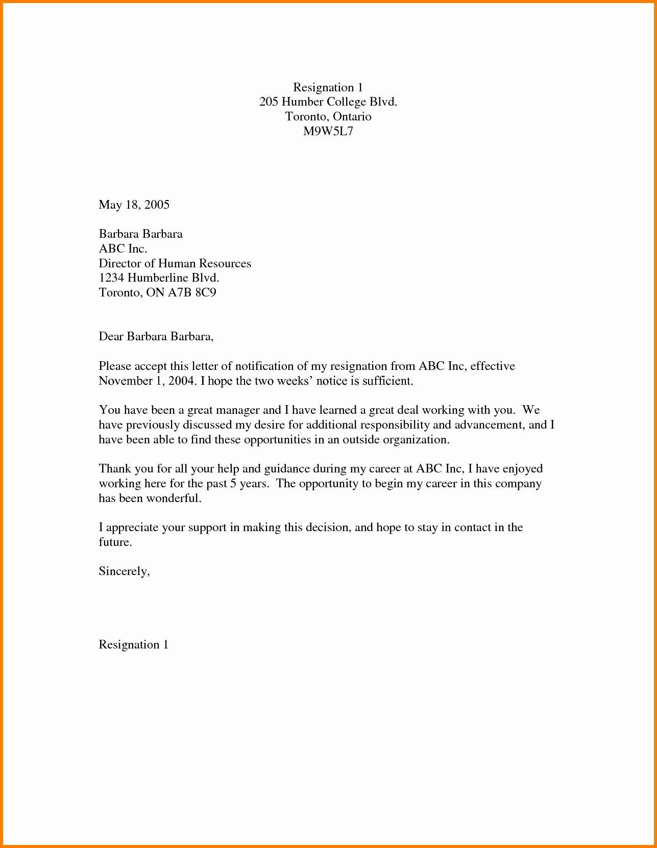 Letter to My Future Self Template - My Perfect Cover Letter Unique Leaving Job Notice Letter Template