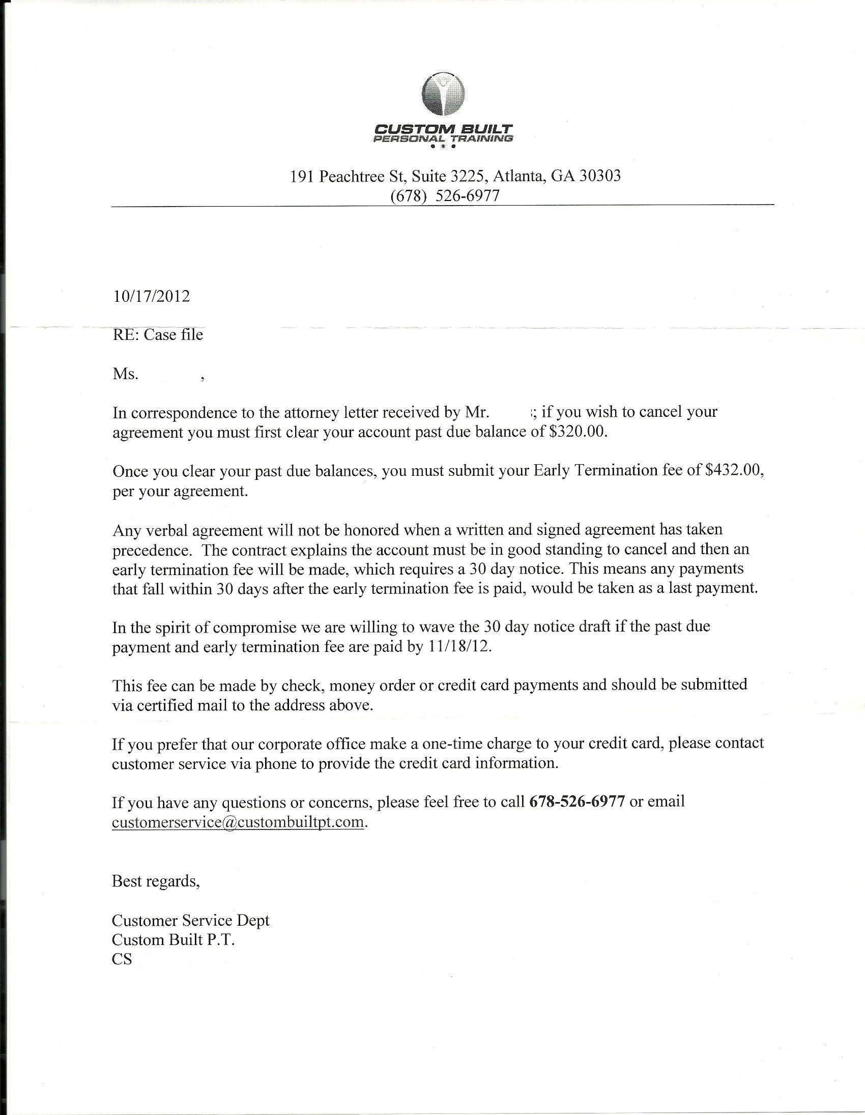 Assisted Living 30 Day Notice Letter Template - Negative Response Of Seller to Claim Letter Saferbrowser Yahoo