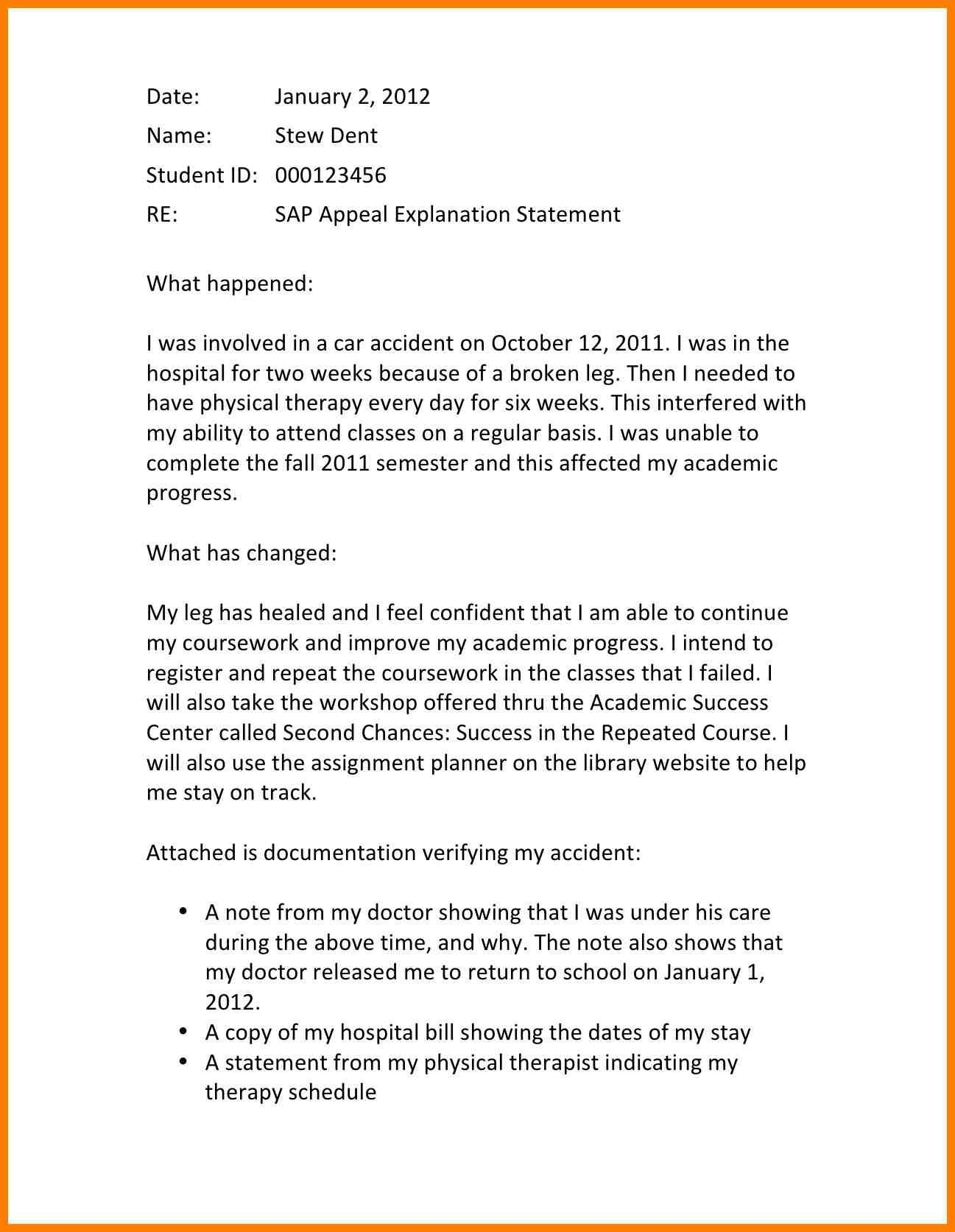 10 Day Appeal Letter Template - New 10 Sample Appeal Letter Template Best New 10 Sample Appeal