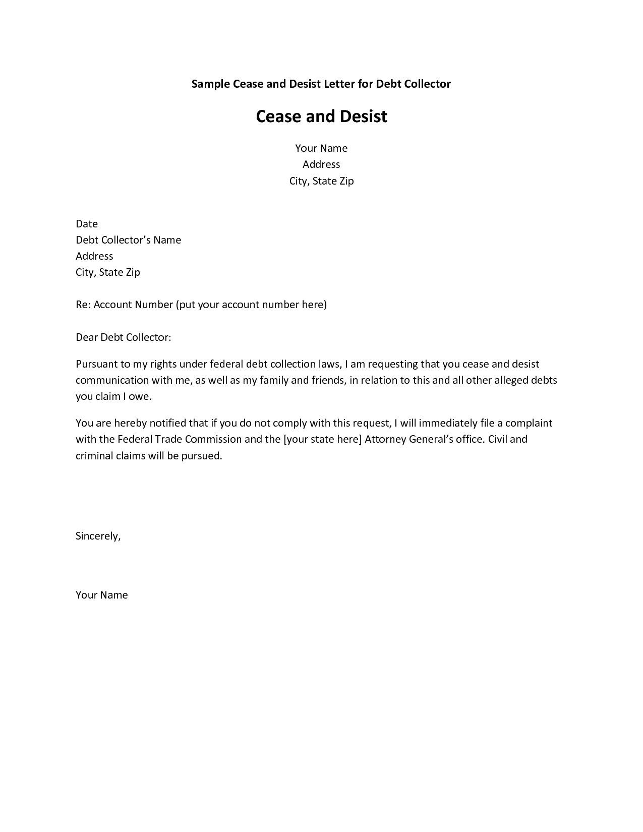 Collection Dispute Letter Template - New Dispute Letter to Credit Bureau Template