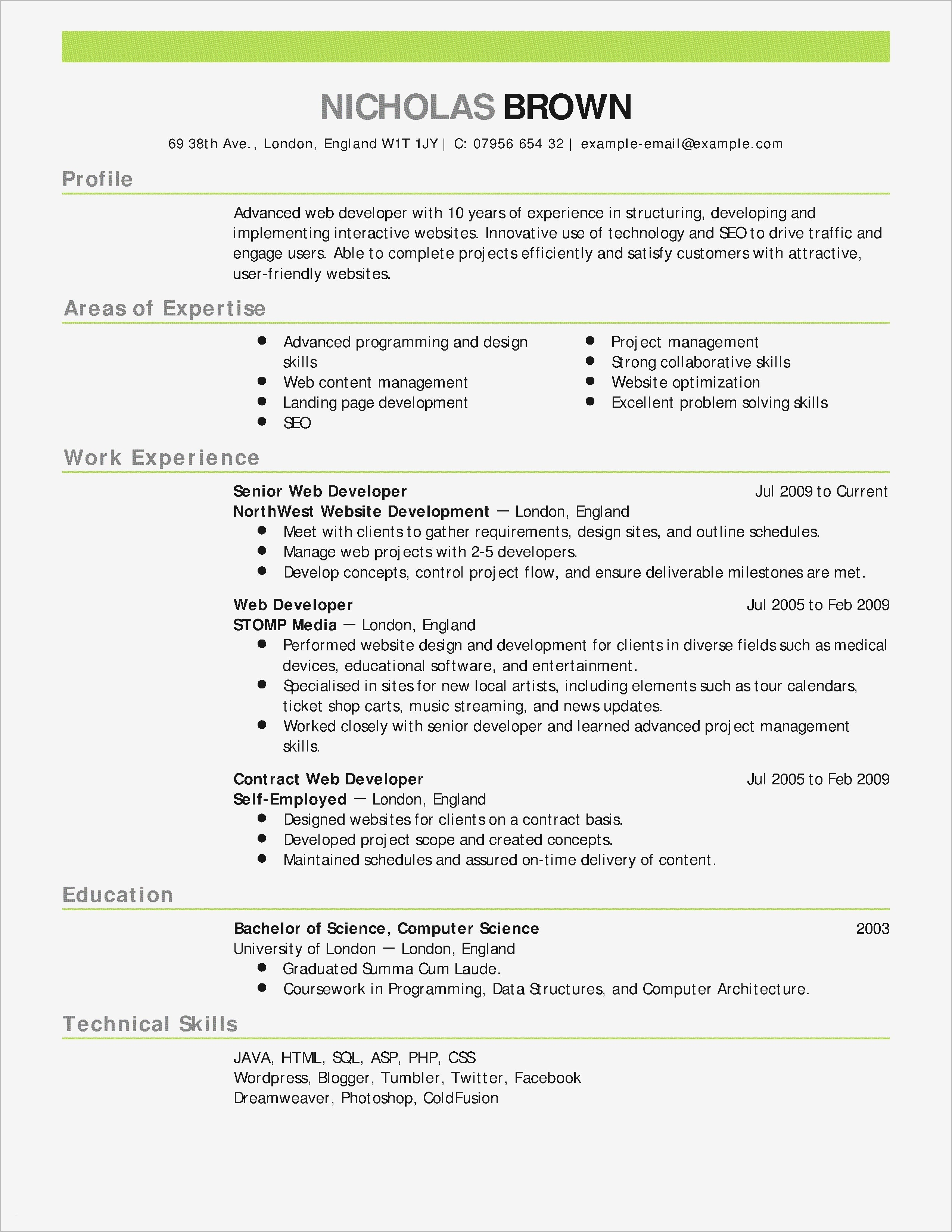 Security Cover Letter Template - New Letter Template Fresh Resume Letter Best formatted Resume 0d
