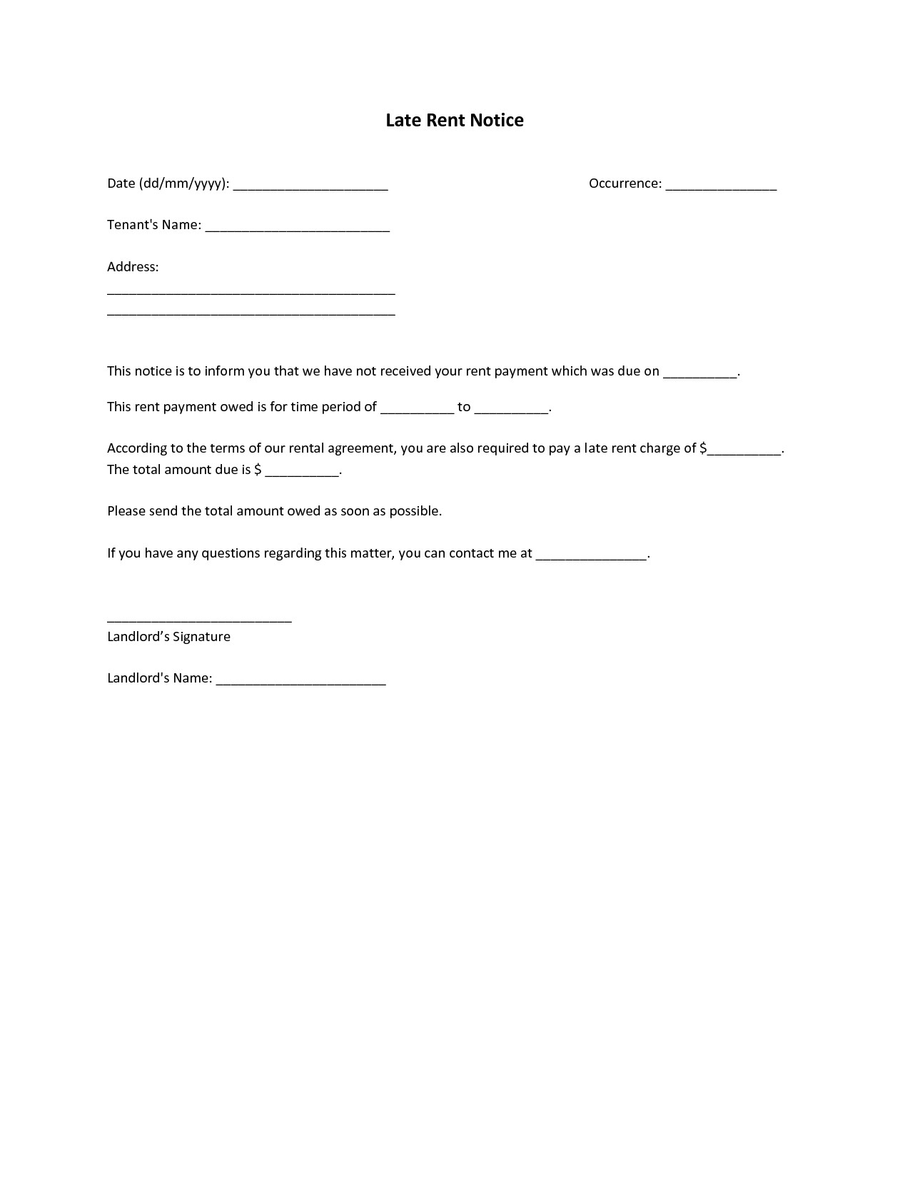 Past Due Rent Letter Template - Past Due Letter Template Beautiful Sample Interest Letter for