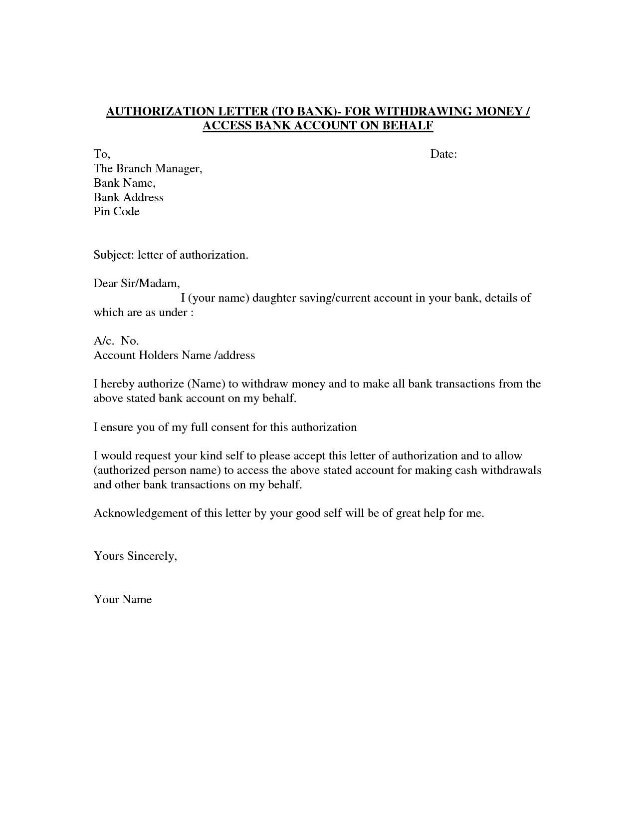 Past Due Rent Letter Template - Past Due Letter Template Luxury Authorization Letter Template Best