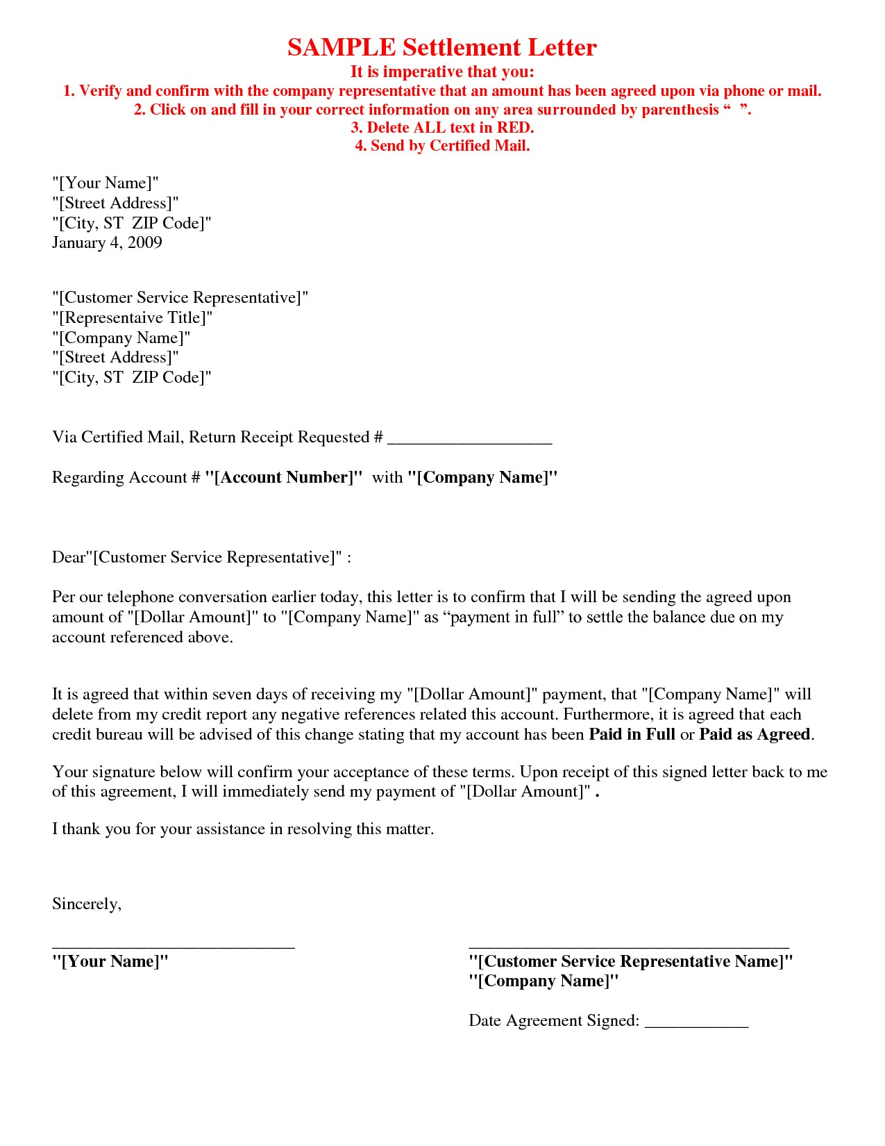 Legal Settlement Offer Letter Template - Payment Agreement Letter format Fresh Contract Letter Template